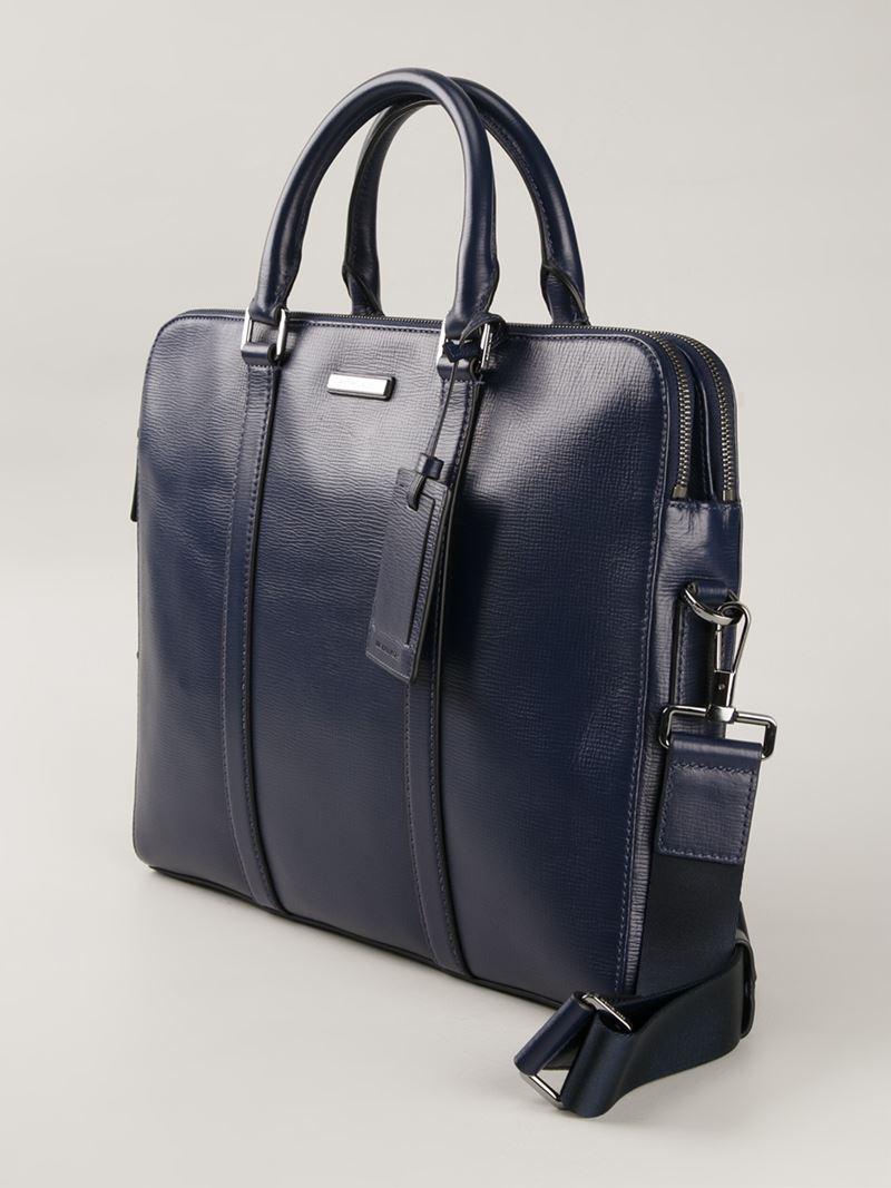 517f7091b Michael Kors 'Warren' Slim Briefcase in Blue for Men - Lyst
