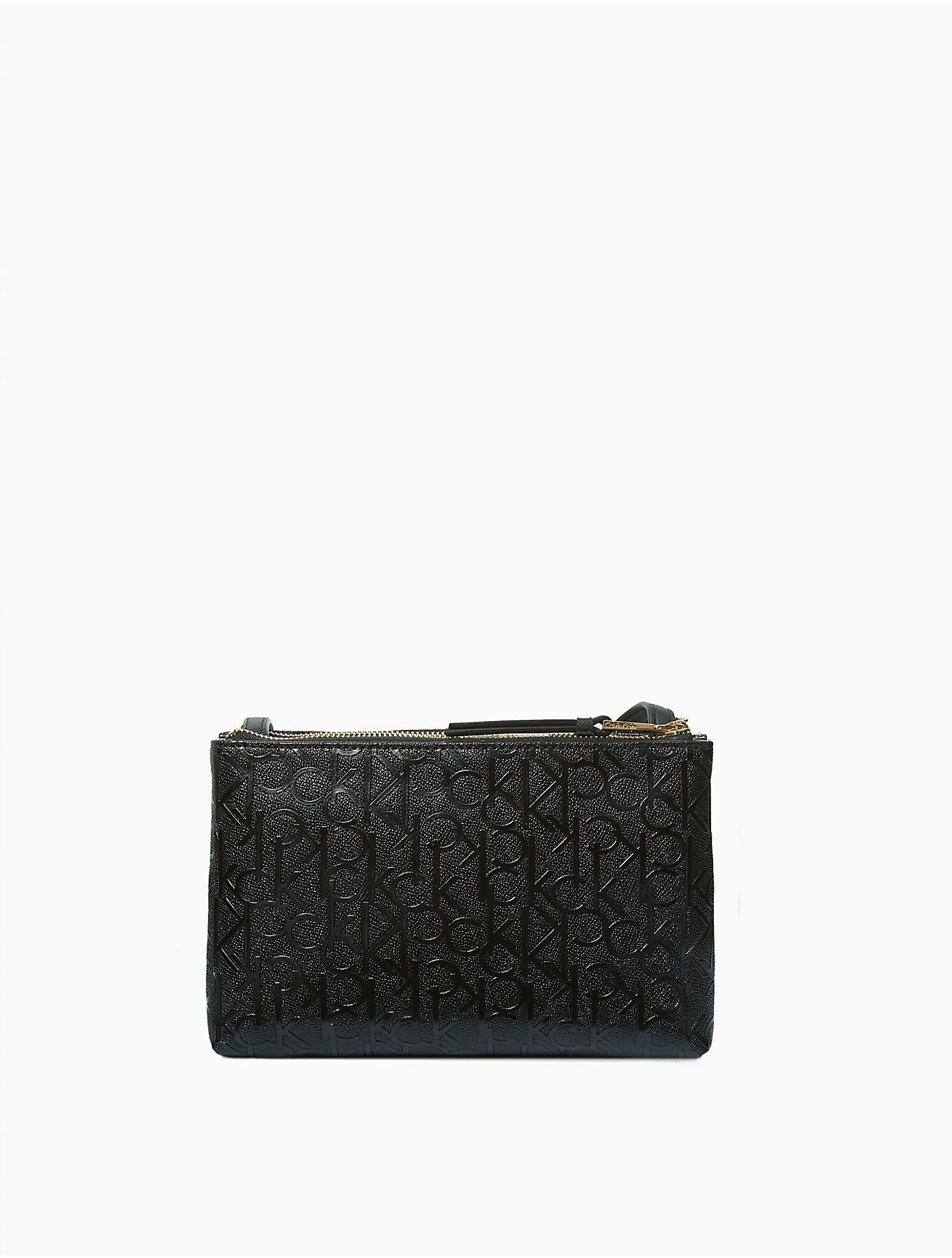 Sac À Bandoulière En Relief - Noir Calvin Klein 205w39nyc xSYcy