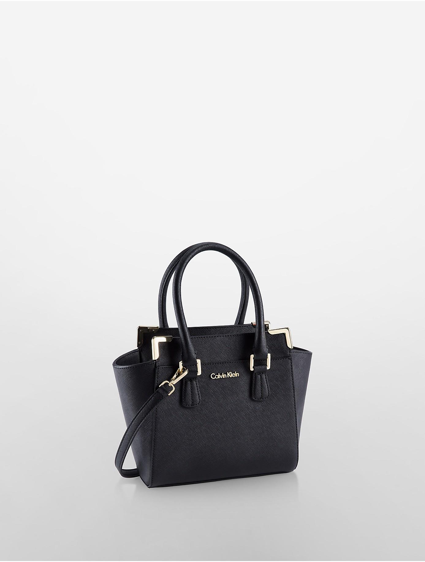 Discount Visit New Leather Mini Tote Bag Calvin Klein Free Shipping Discount Cheap Sale Store EAsd9HmpBf