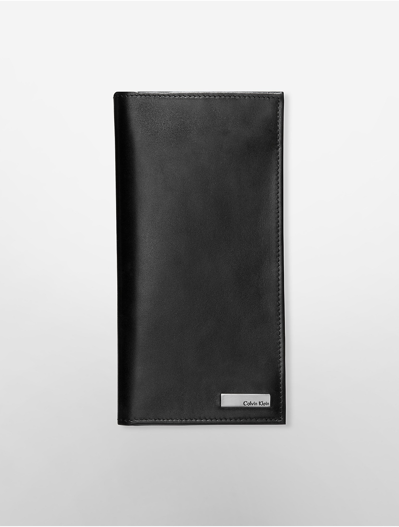 Calvin Klein Men In Lyst Leather Smooth For Chest Black Wallet adgwTqg