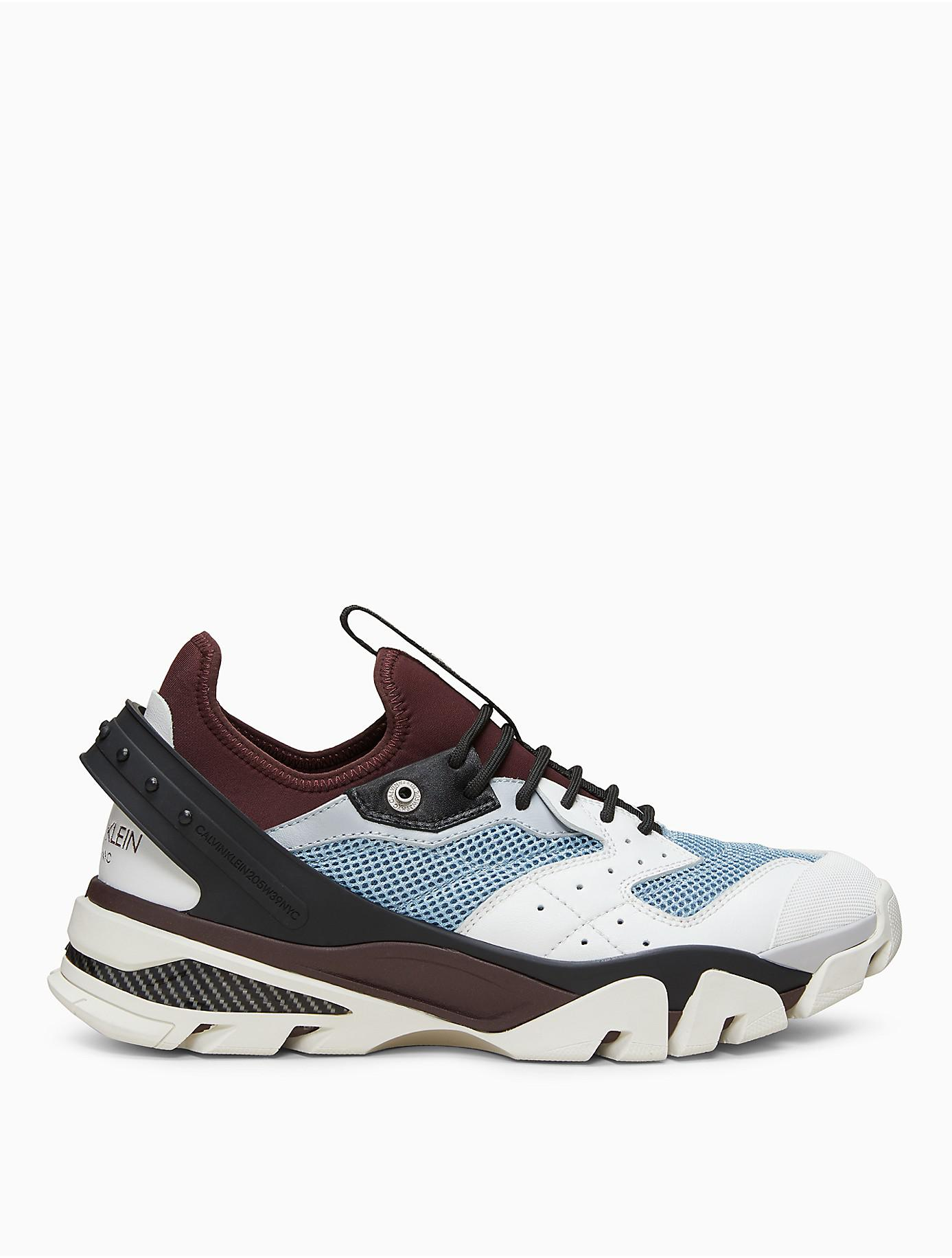 872586b6f4f74 Lyst - Calvin Klein 205W39Nyc Lace-up Athletic Sneaker In Nappa ...