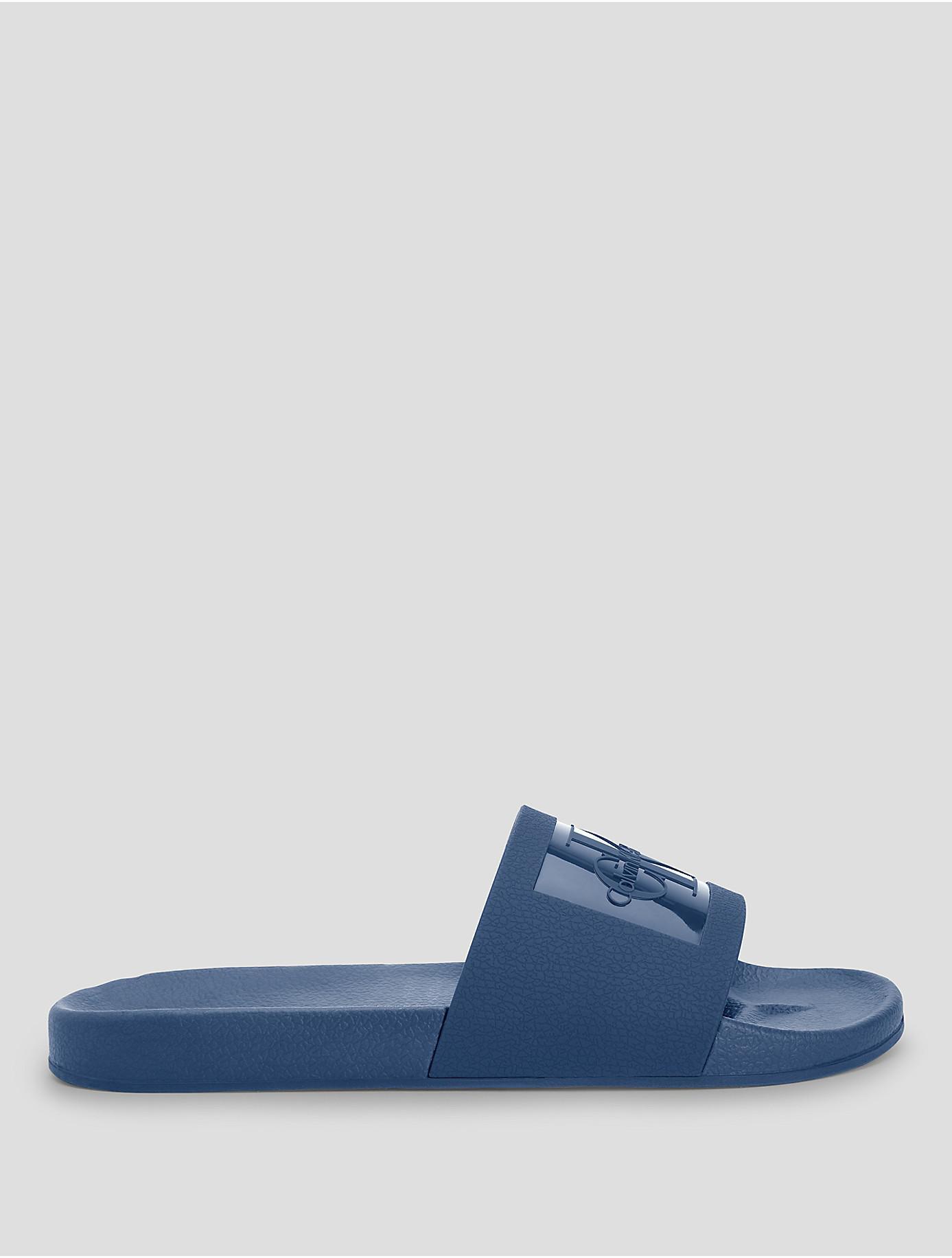 953fb6797b26 Lyst - Calvin Klein 205W39Nyc Vincenzo Logo Sandal in Blue for Men