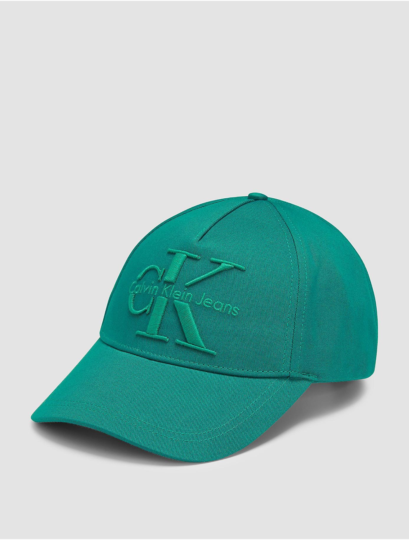 bf0847db97f Lyst - Calvin Klein Jeans Reissue Logo Cotton Cap in Green for Men