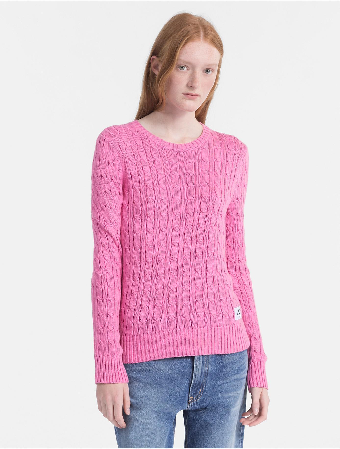 Cheap Shopping Online Pima Cotton Cable Jumper Calvin Klein Quality Free Shipping 5Wgpbrws