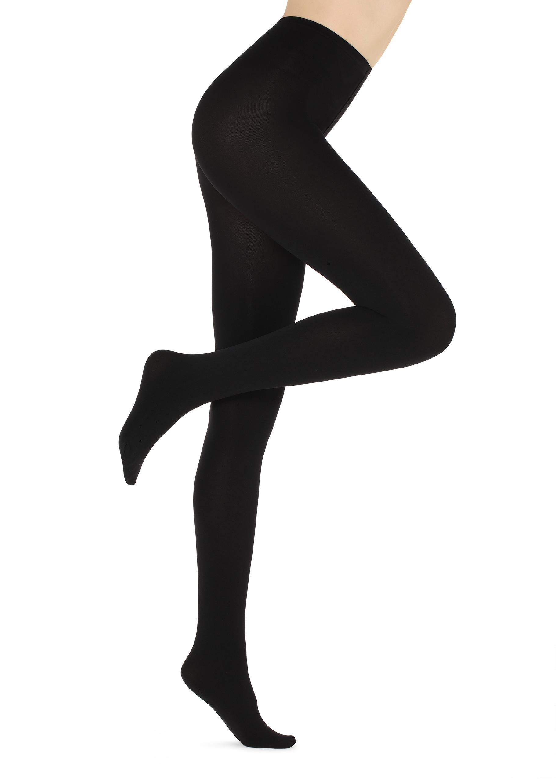 3a568e68a Lyst - Calzedonia 100-denier Thermal Tights in Black