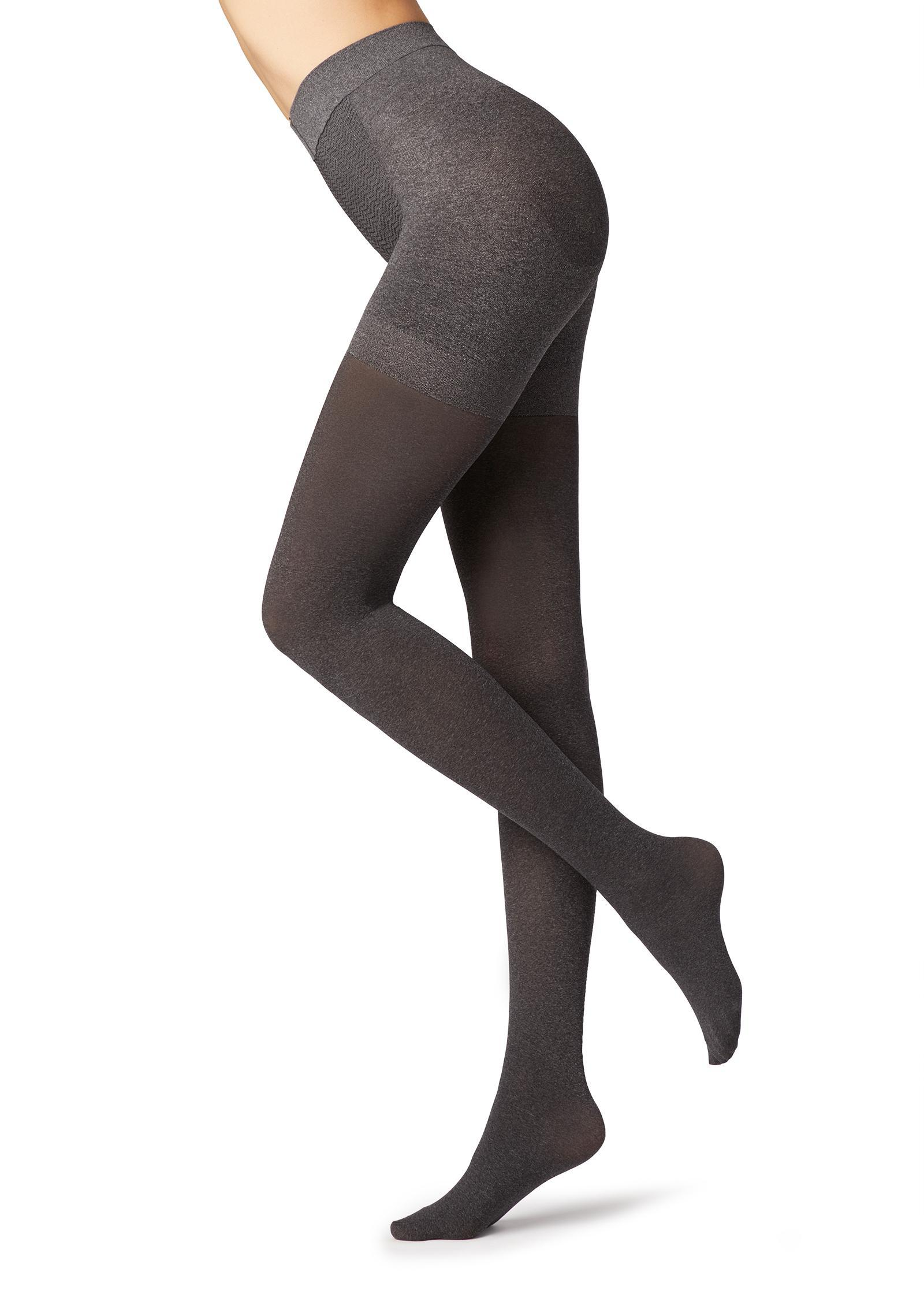 13b4bd6b336 Lyst - Calzedonia 50 Denier Total Shaper Tights in Gray