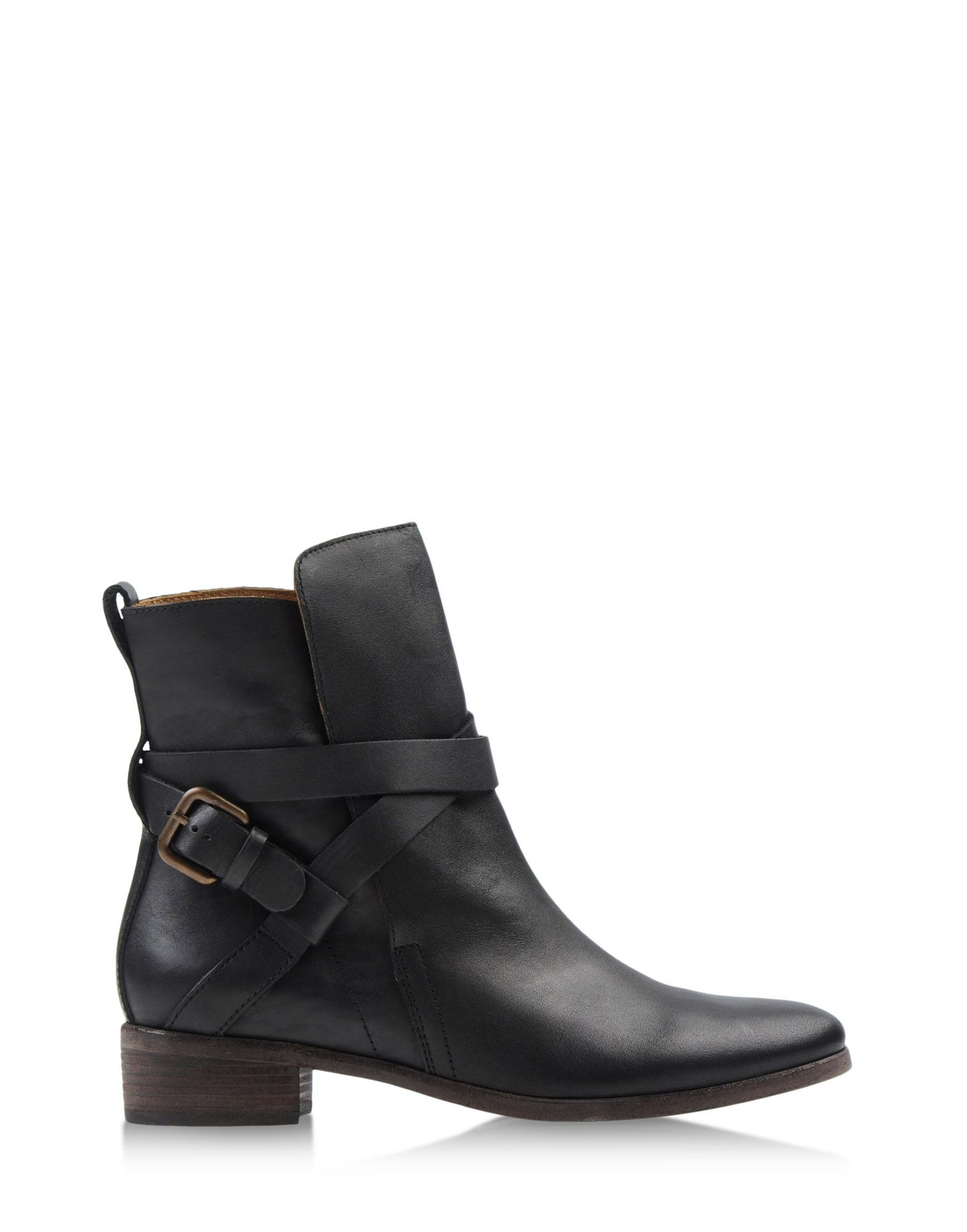 see by chlo ankle boots in black lyst. Black Bedroom Furniture Sets. Home Design Ideas