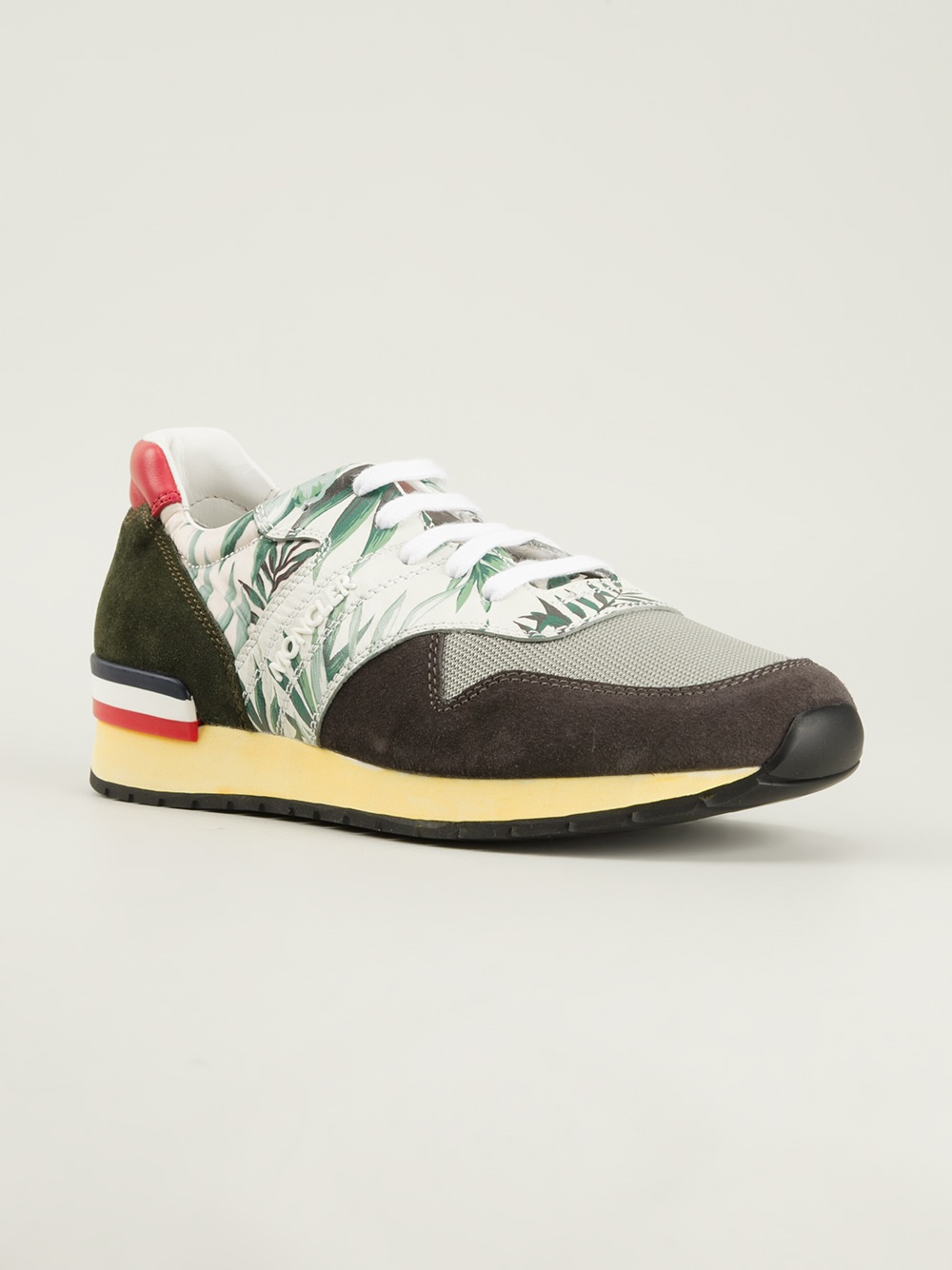 moncler san diego sneakers in multicolor for