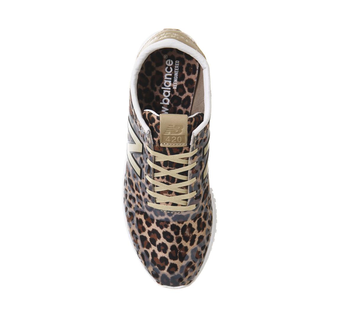 5ca2bceafd39 Women's New Balance 420 Women's Leopard .