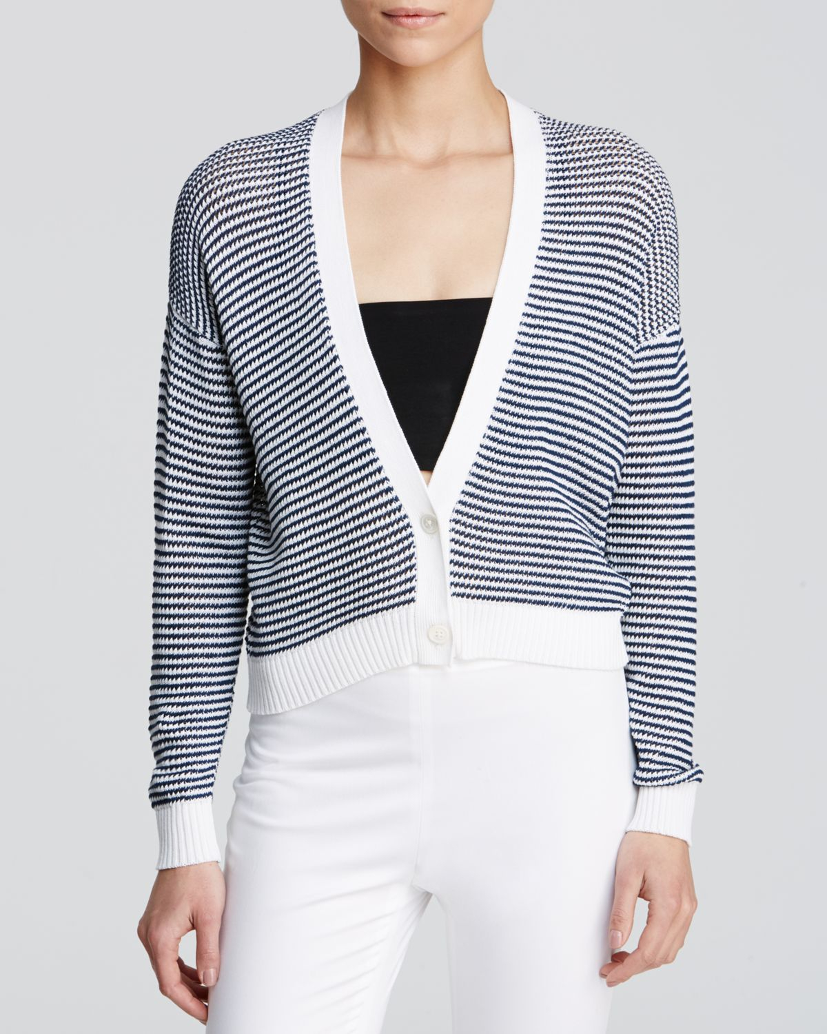 Find navy white striped cardigan at ShopStyle. Shop the latest collection of navy white striped cardigan from the most popular stores - all in one. Thom Browne Round Neck Cashmere Cardigan - Womens - Navy White $1, Get a Sale Alert at Talbots Talbots Tipped Charming Cardigan - White $ $ Get a Sale Alert.