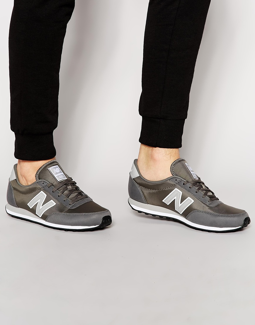 new balance 410 grey trainers black