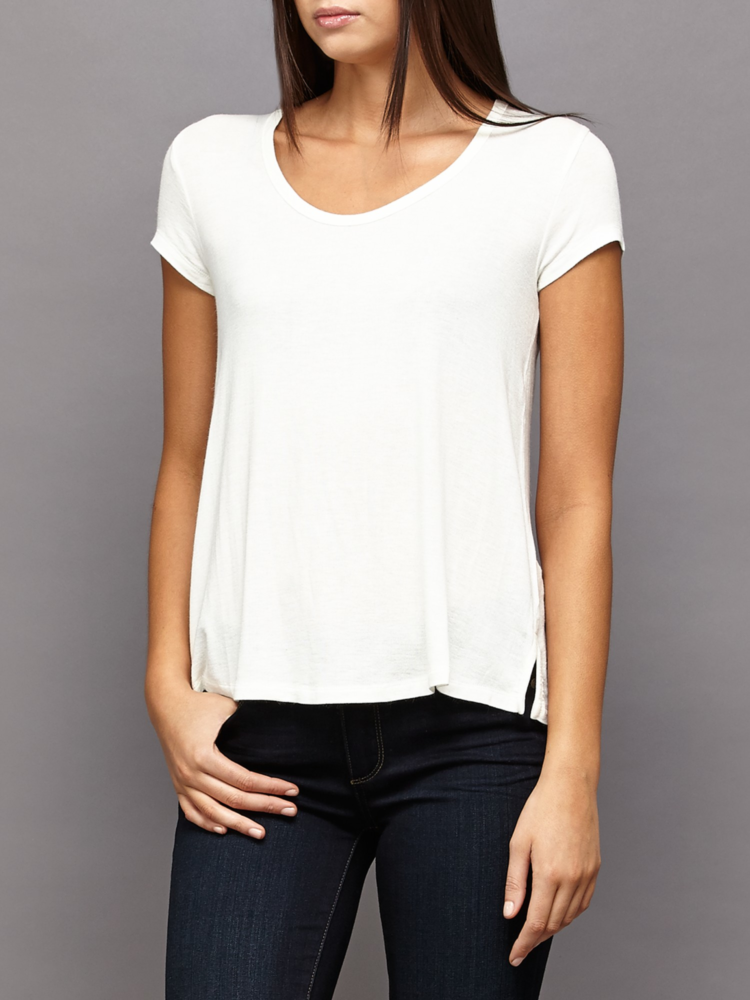 american vintage moly well t shirt in white lyst