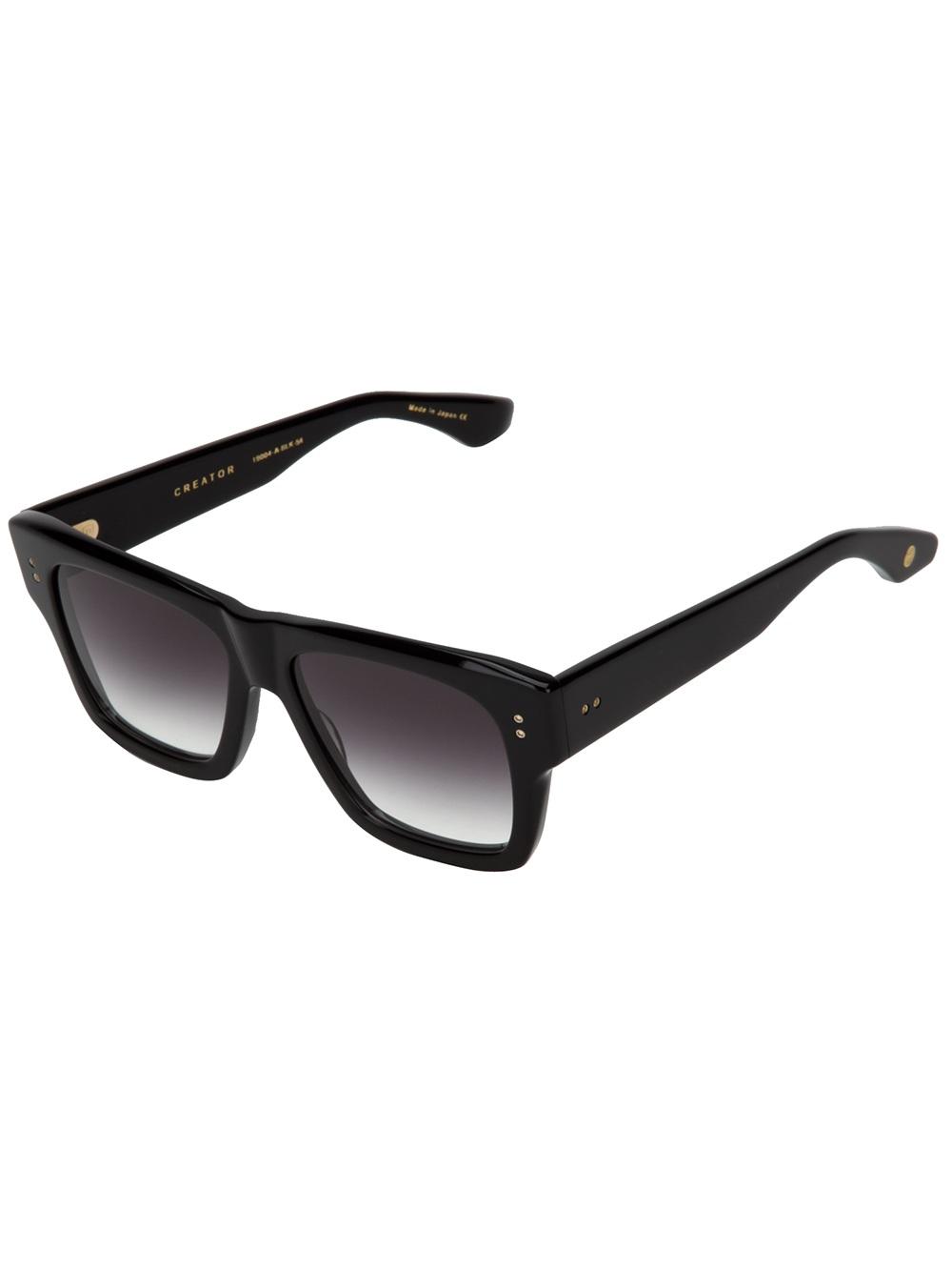 Dita Creator Sunglasses In Black Lyst