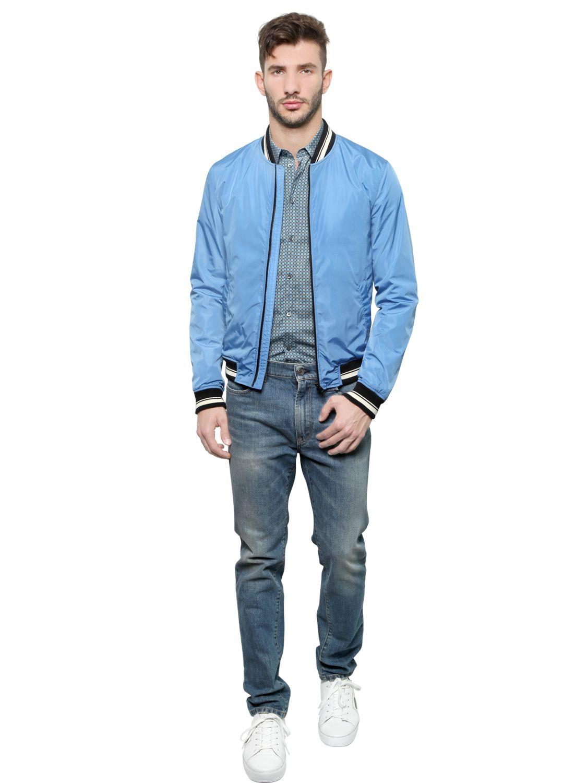 Bomber Jacket Blue