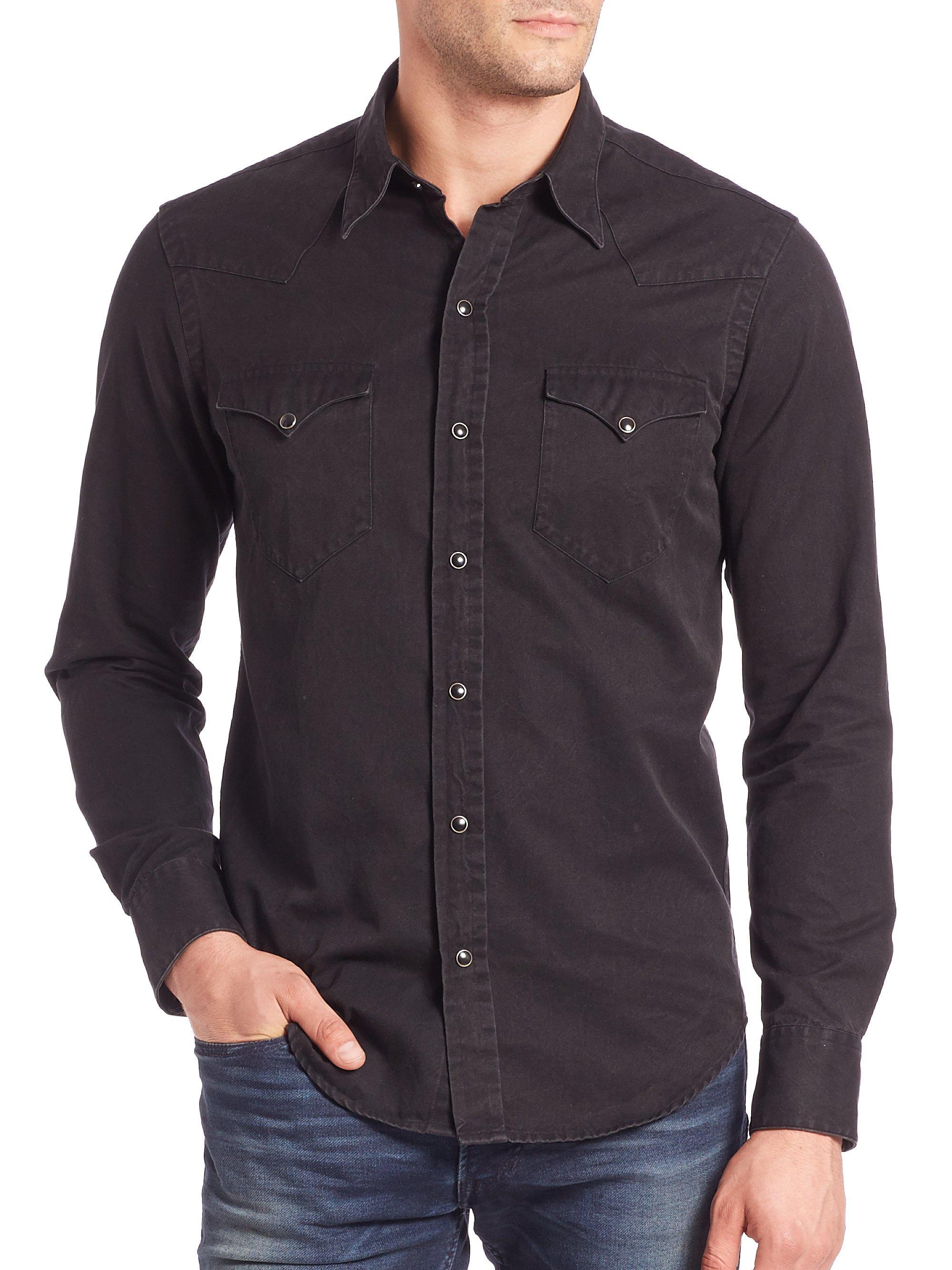 Find great deals on eBay for black denim shirt men. Shop with confidence.