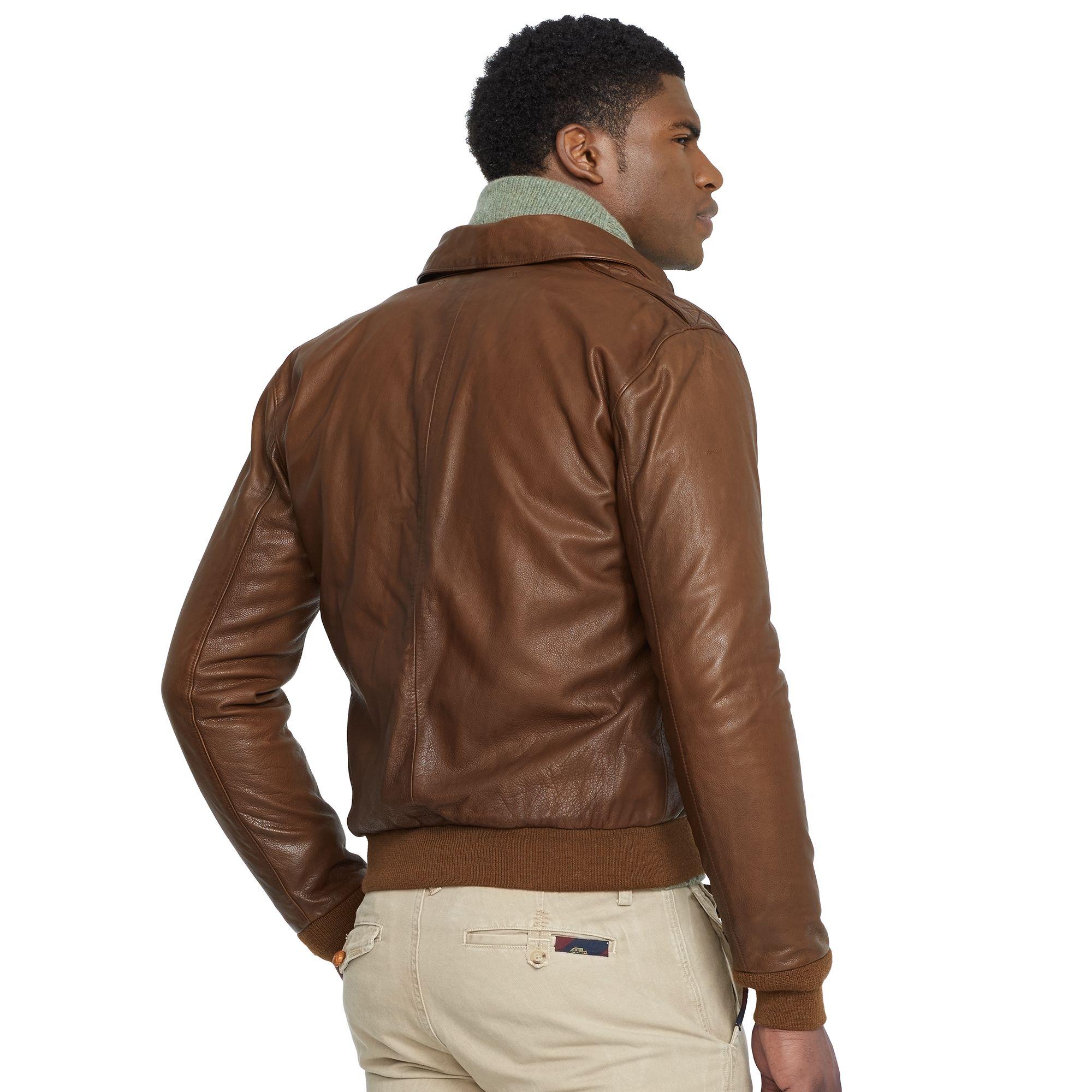 schön billig elegante Schuhe Outlet-Boutique Leather Farrington A2 Jacket