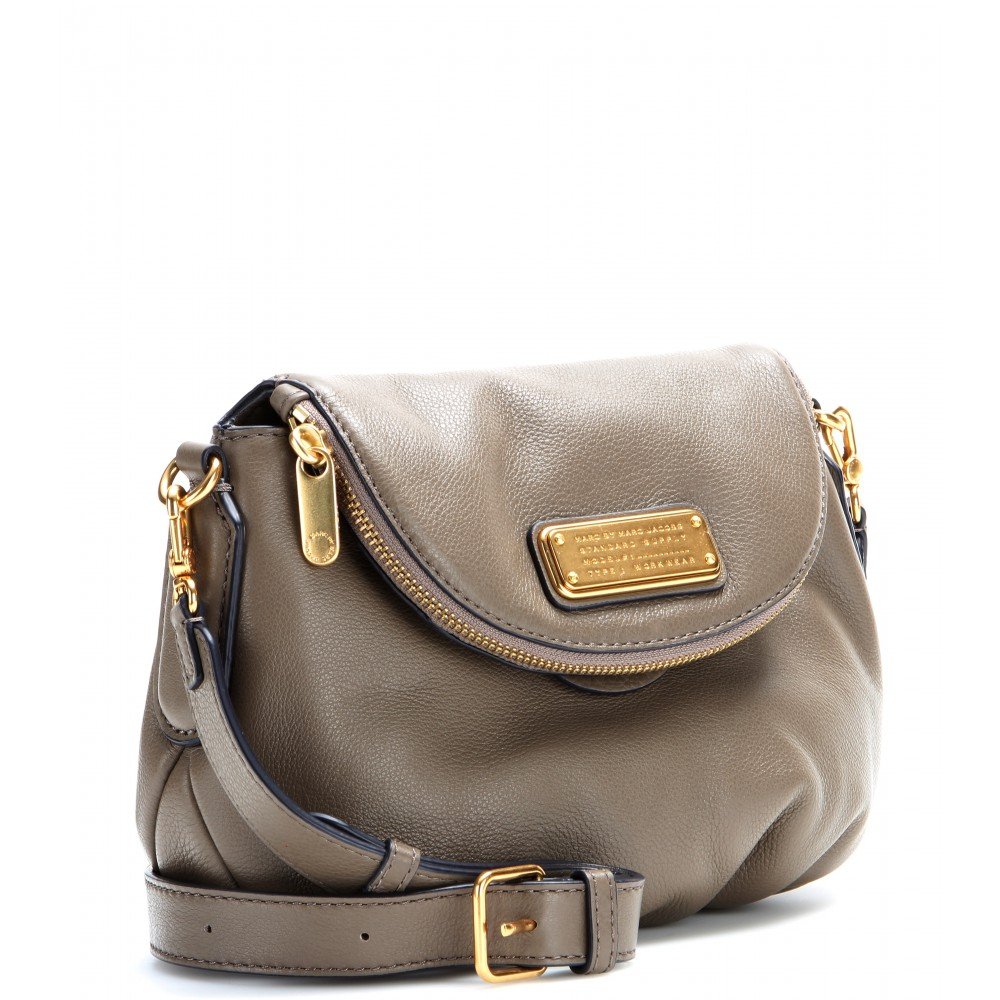 c20f488c66c0 Lyst - Marc By Marc Jacobs Mini Natasha Leather Shoulder Bag in Brown