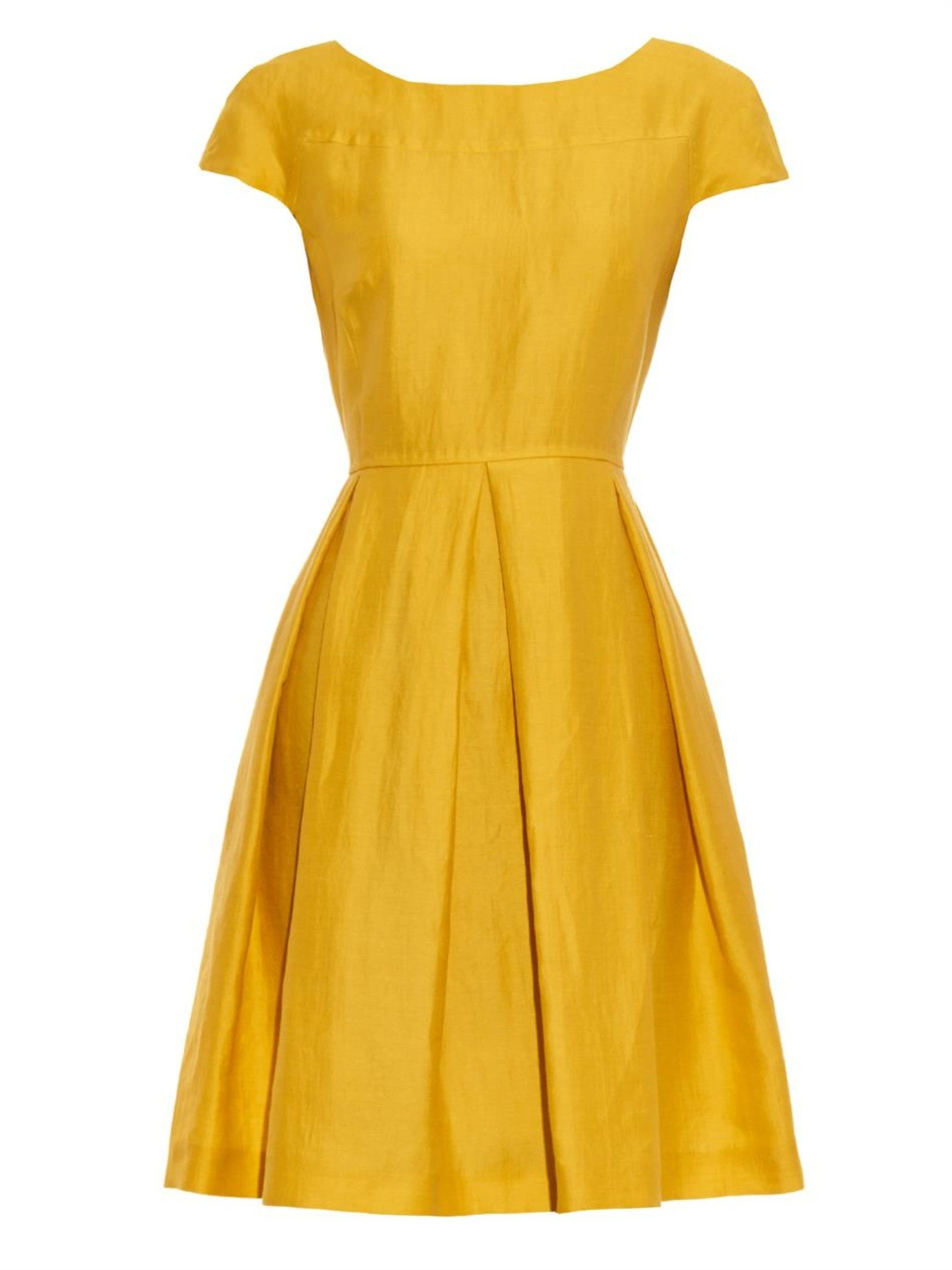 aa6dd9c369 Weekend by Maxmara Bray Dress in Yellow - Lyst