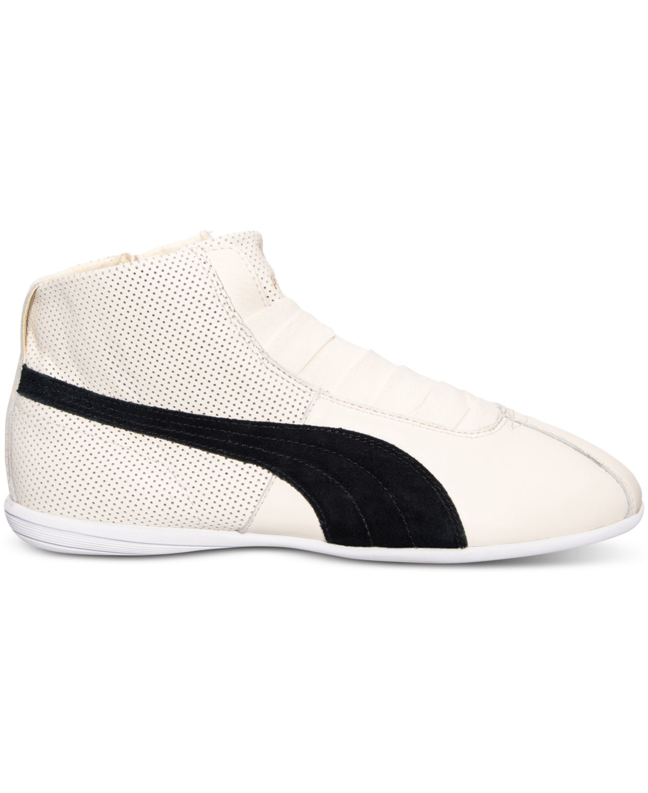 2b987d326d3 Lyst - PUMA Women s Eskiva Mid Casual Sneakers From Finish Line in White