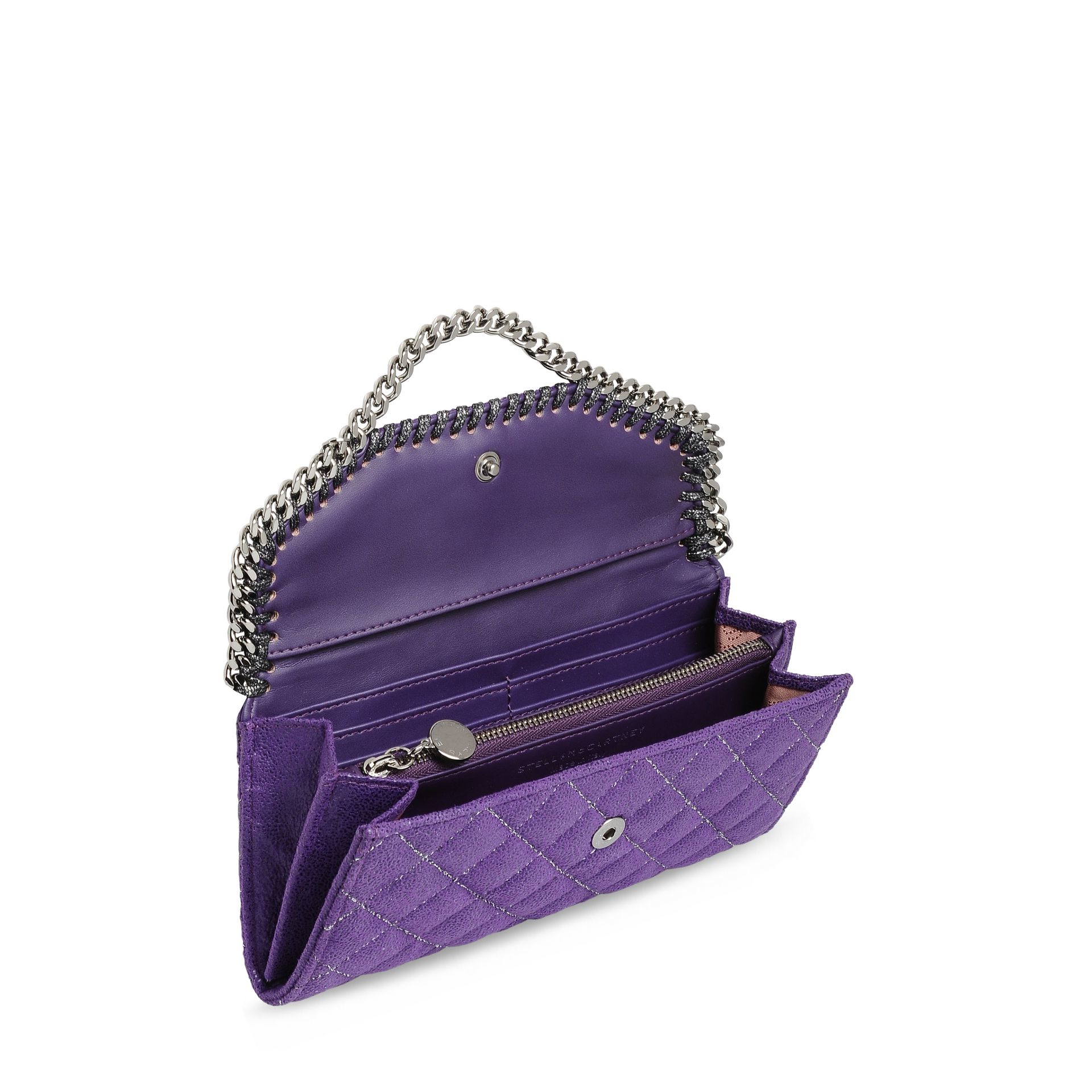 Falabella continental wallet - Black Stella McCartney ZUVosLVls