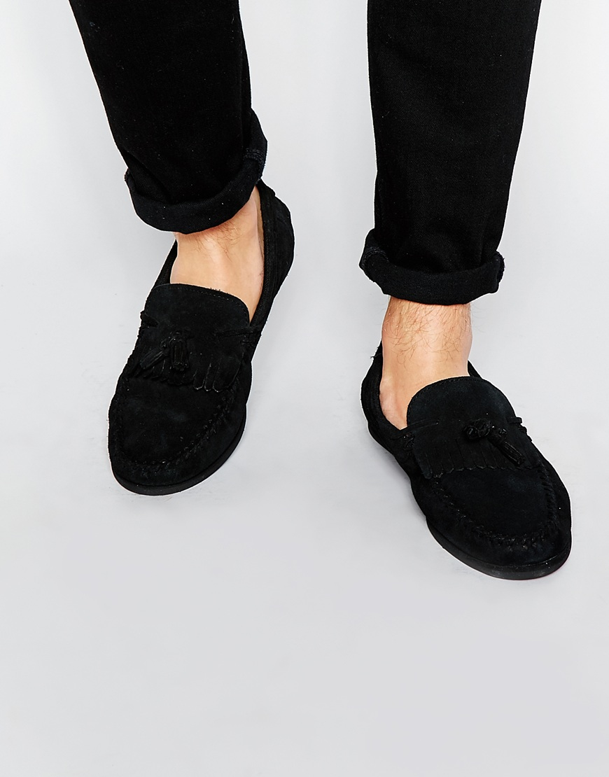Mens Black Shoes With Wedge Sole