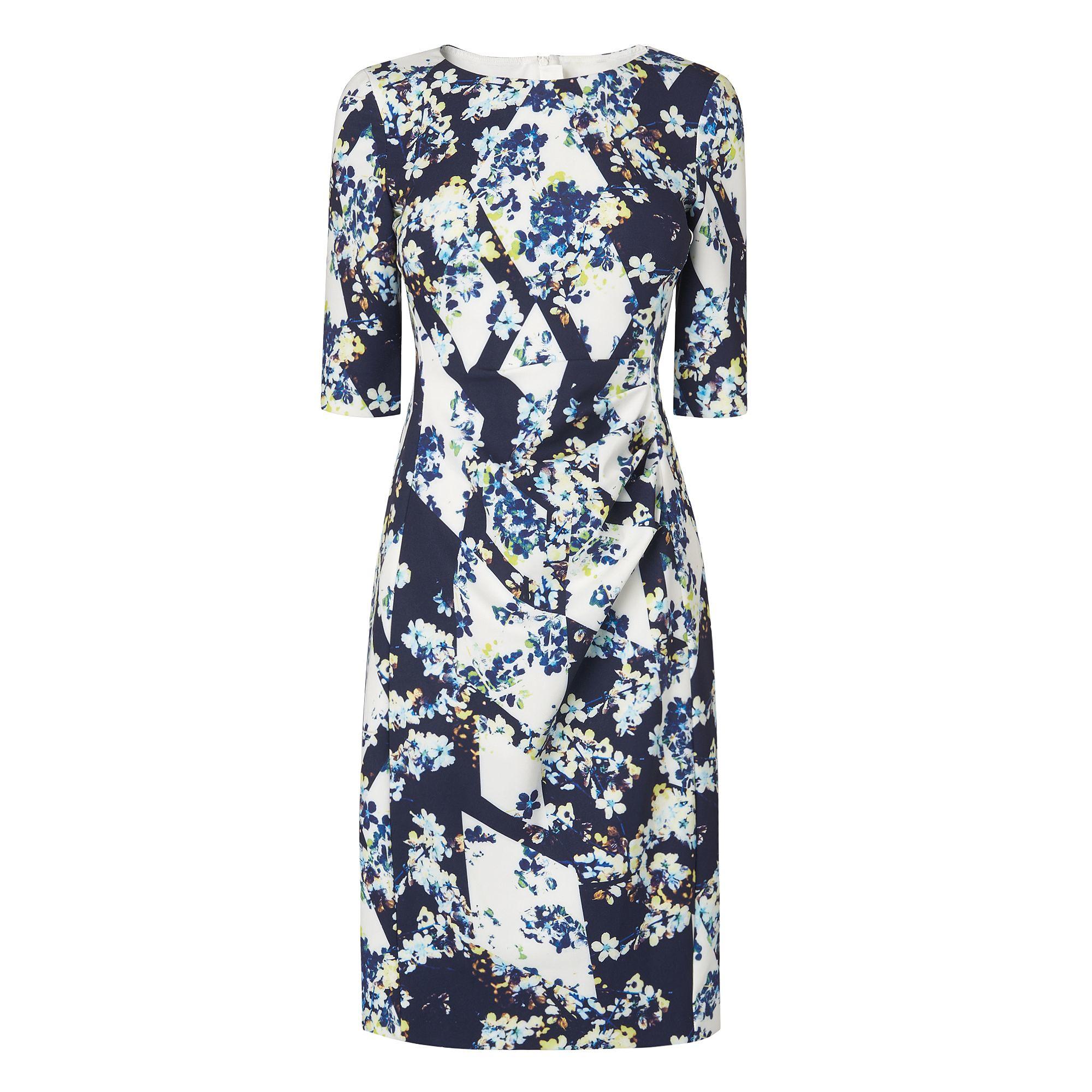 L.k.bennett Crystal Dress in Blue | Lyst