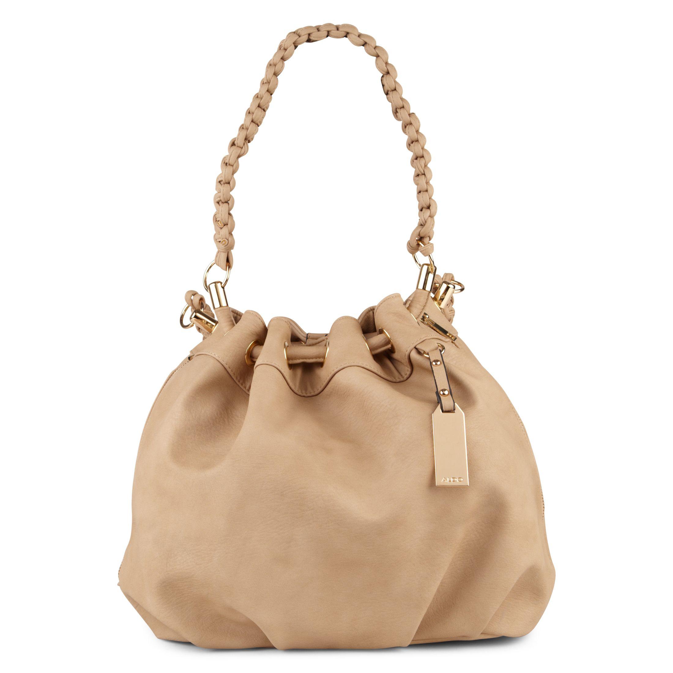Aldo Whitepine Drawstring Satchel Bag in Brown | Lyst