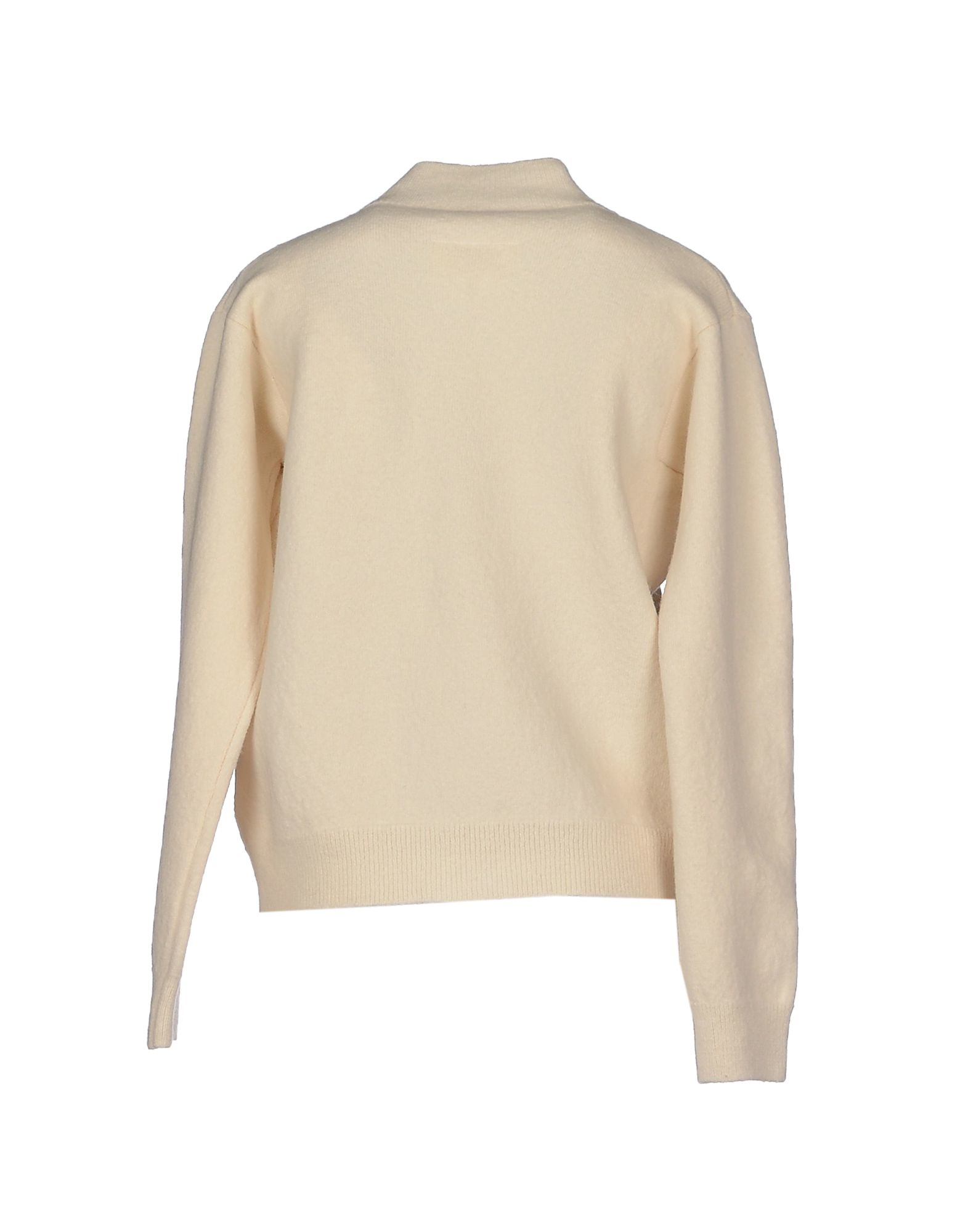 Lyst mm6 by maison martin margiela cardigan in natural for Mm6 maison martin margiela