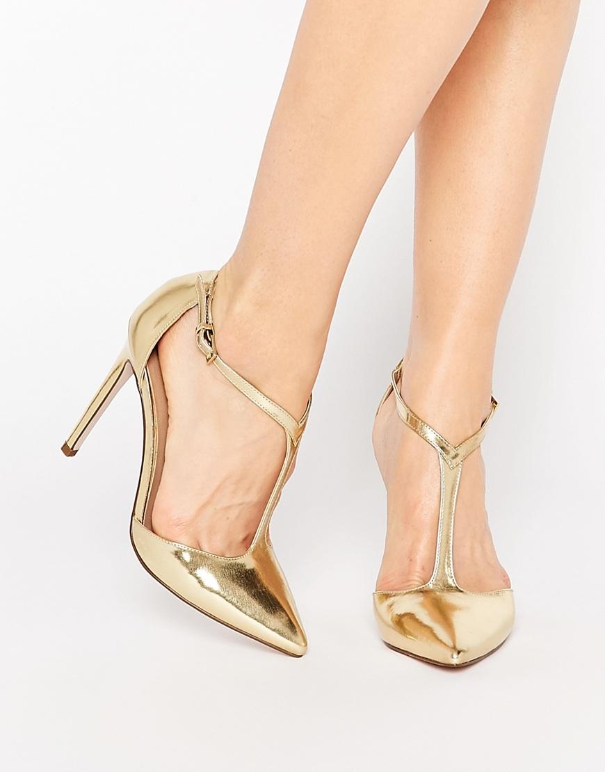 Wide Fit Kitten Heel Shoes