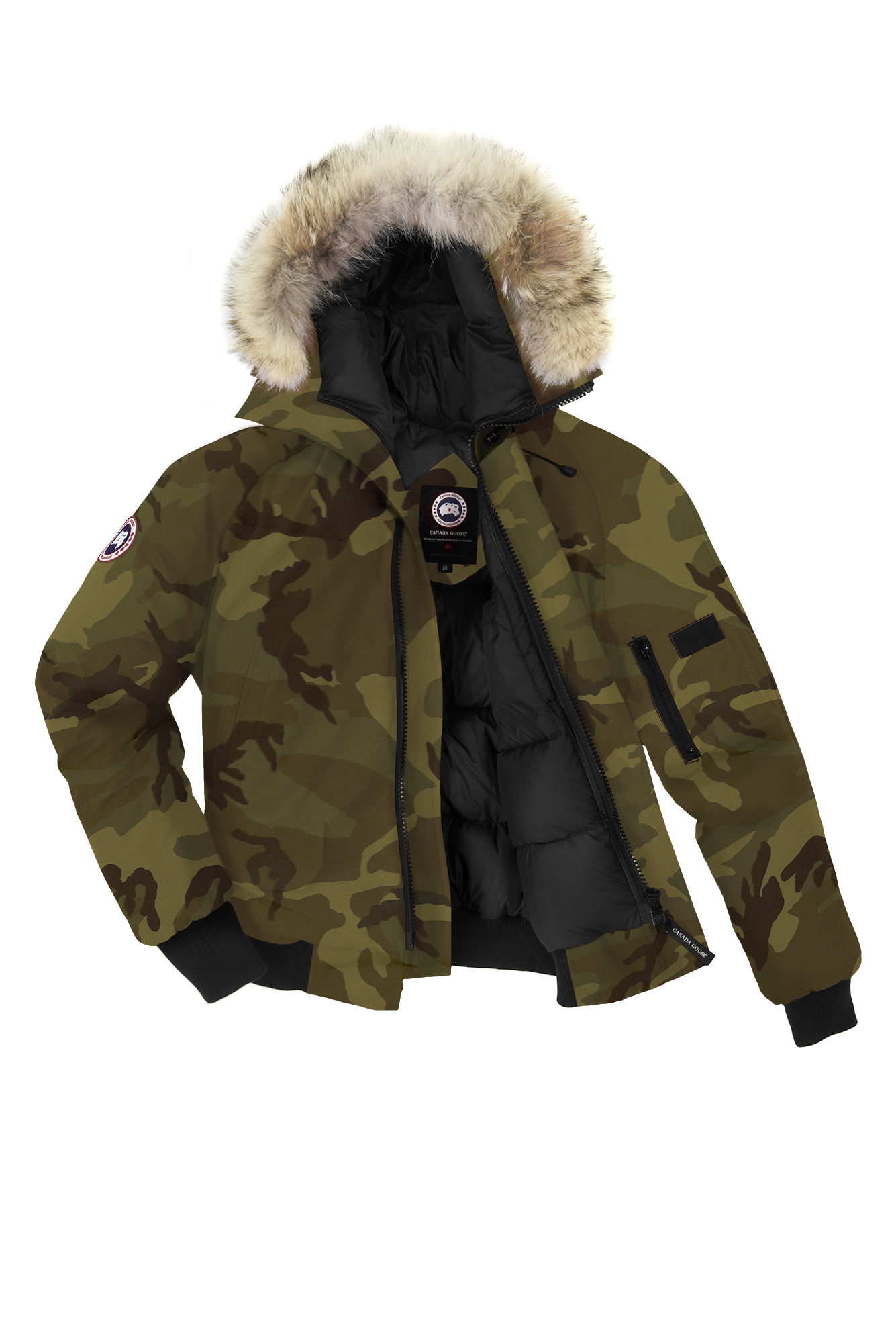 Canada Goose montebello parka sale shop - Canada goose Chilliwack Bomber in Green for Men (Classic Camo) | Lyst