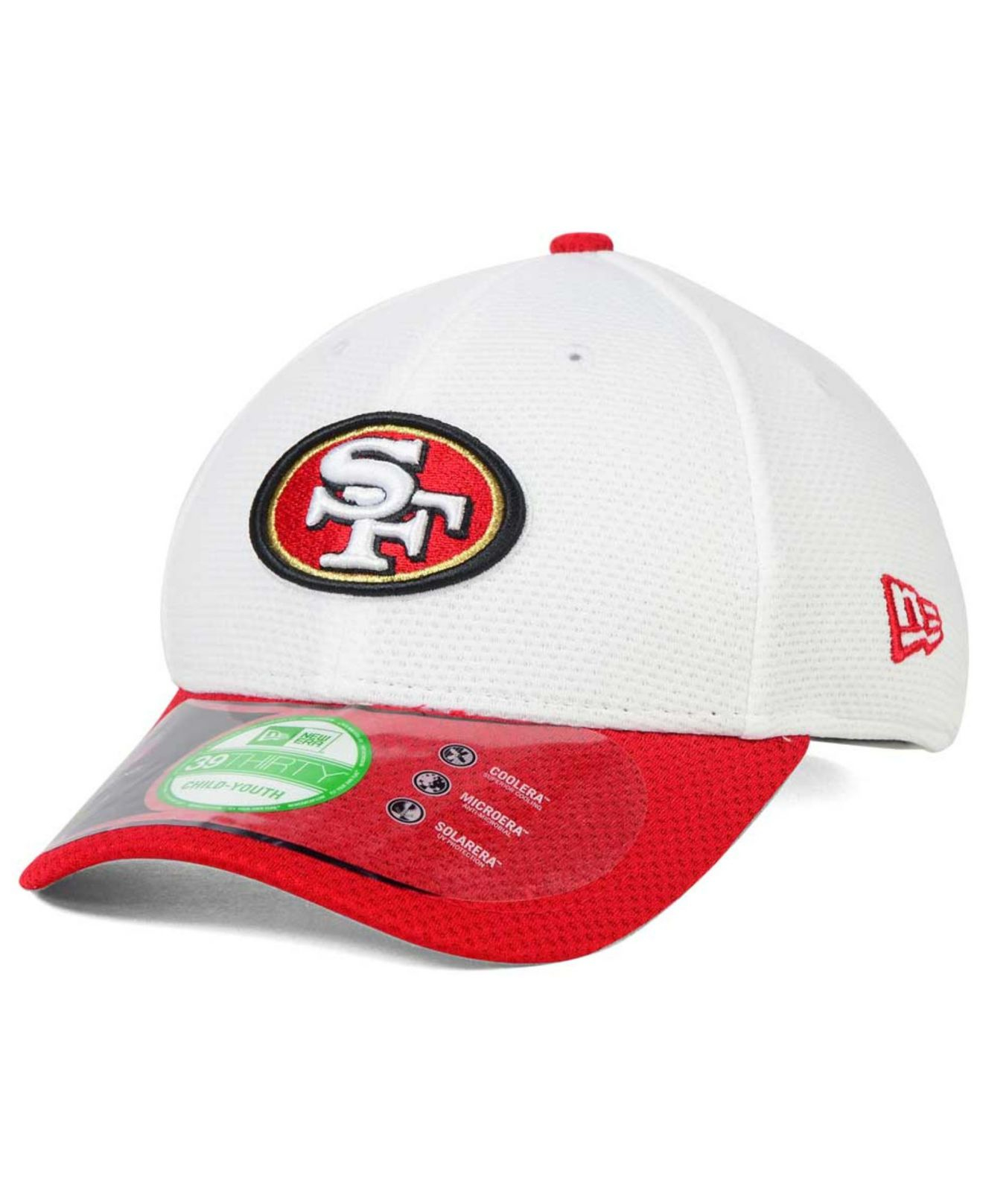 9758a04ce Lyst - Ktz Kids  San Francisco 49ers Training Camp 39thirty Cap in Red