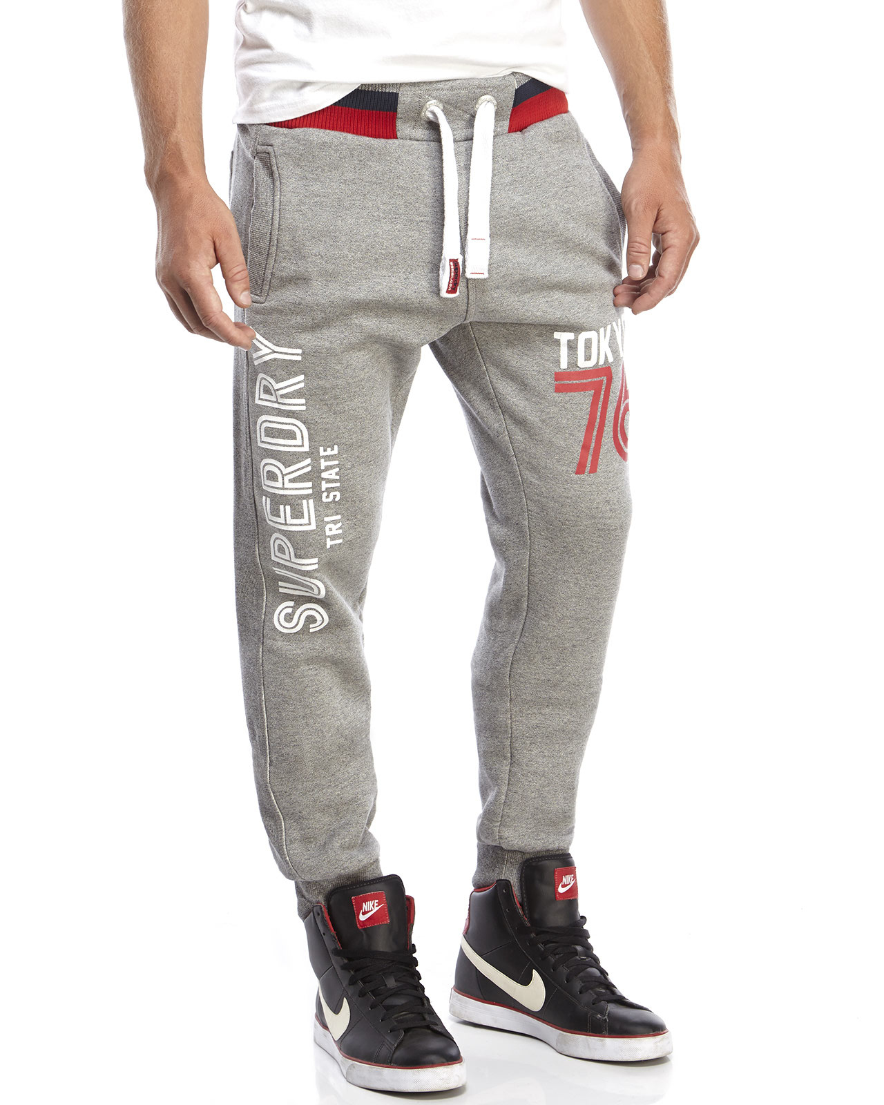 latest fashion newest style of picked up Superdry Tri State Sweatpants in Gray for Men - Lyst