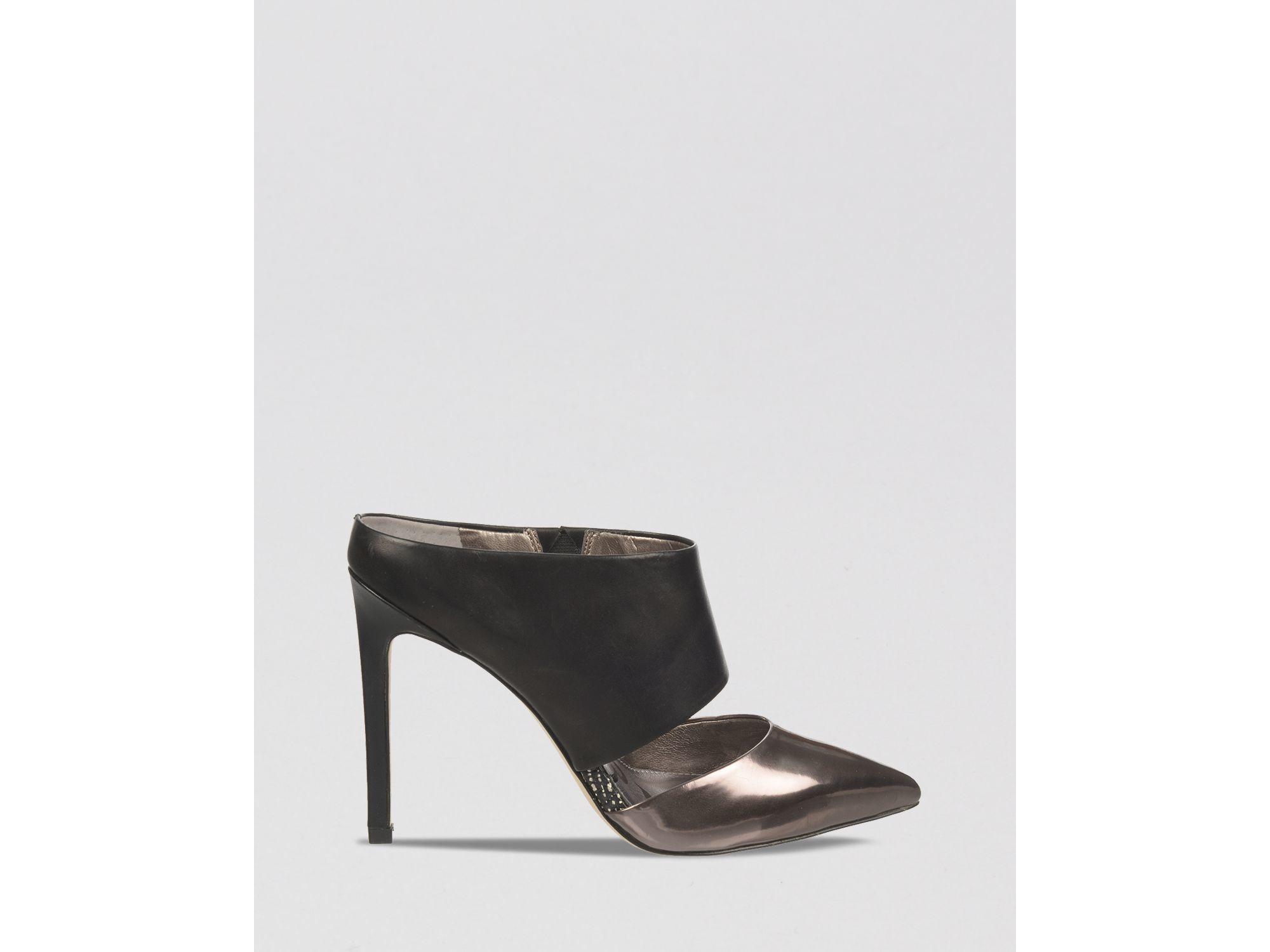 bf66cb0f7d92 Sam Edelman Pointed Toe Mule Slide Pumps - Monroe High Heel in ...
