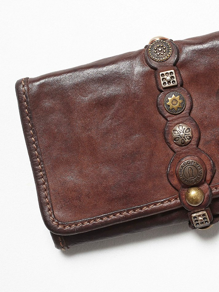 Free People Campomaggi Womens Amaretto Wallet In Brown Lyst