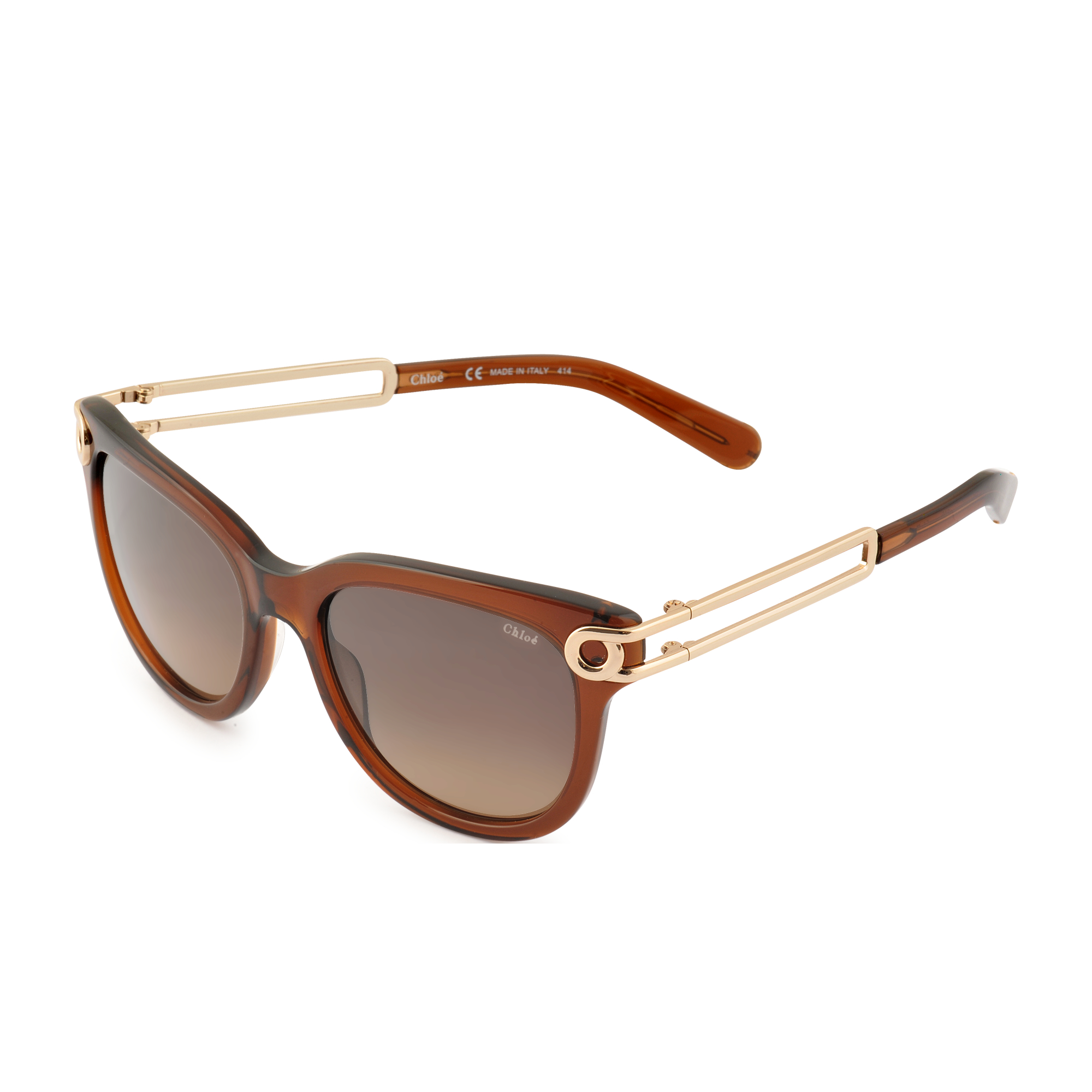 a802648155 Lyst - Chloé Ce679s Sunglasses in Brown
