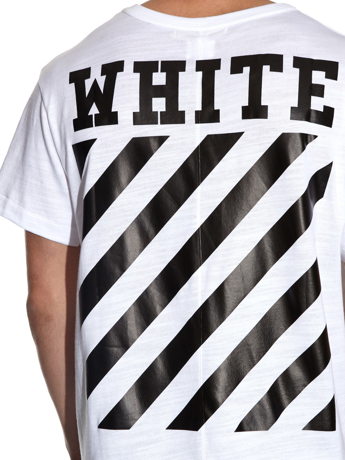 Off White Spring Summer 2017 Women S Collection: Off-White C/O Virgil Abloh Logo-Printed Cotton T