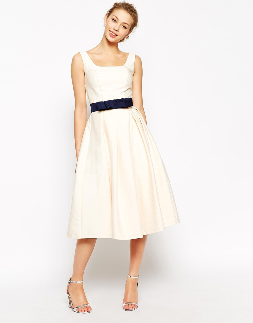 Lyst Chi Chi London Debutant Prom Skater Dress With
