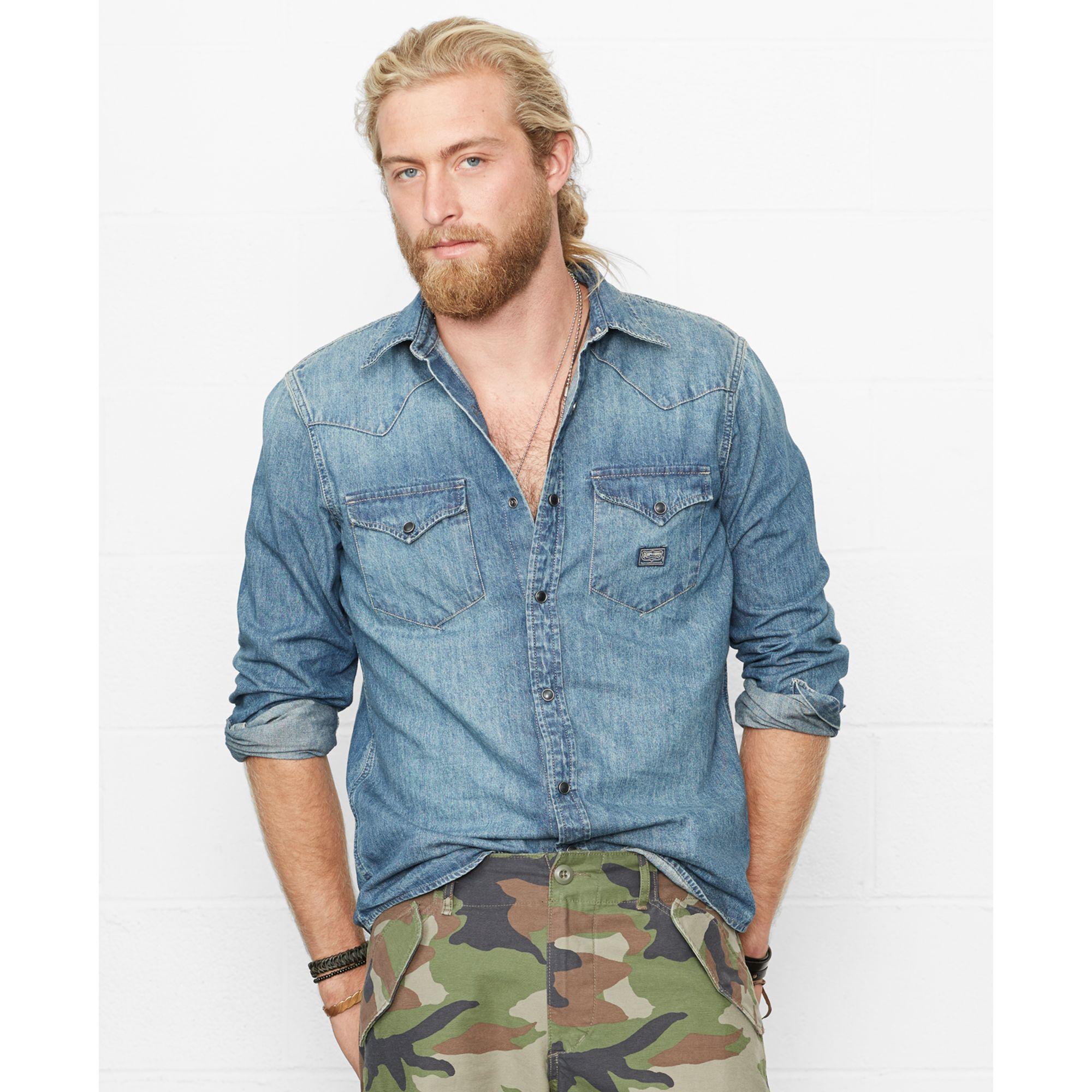 denim supply ralph lauren denim western shirt - WörterSee Public ... 33f246d3b