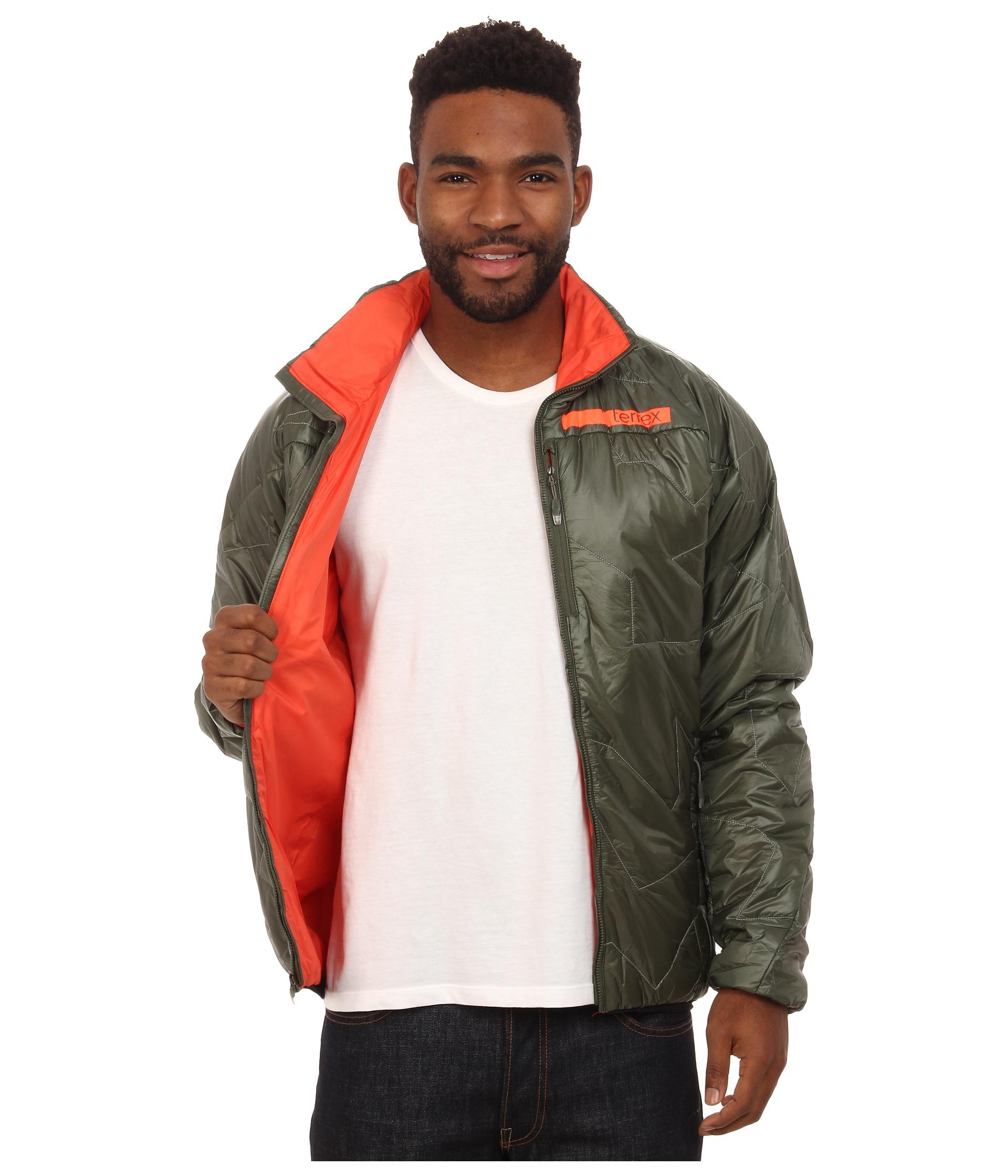 8c1a2f7c7ff3 Lyst - adidas Terrex Agravic Primaloft Jacket in Green for Men