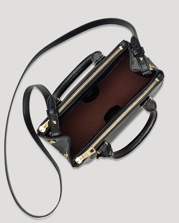 9da4b7e0a39c Lyst - Ralph Lauren Lauren Mini Bag Newbury Double Zip in Brown