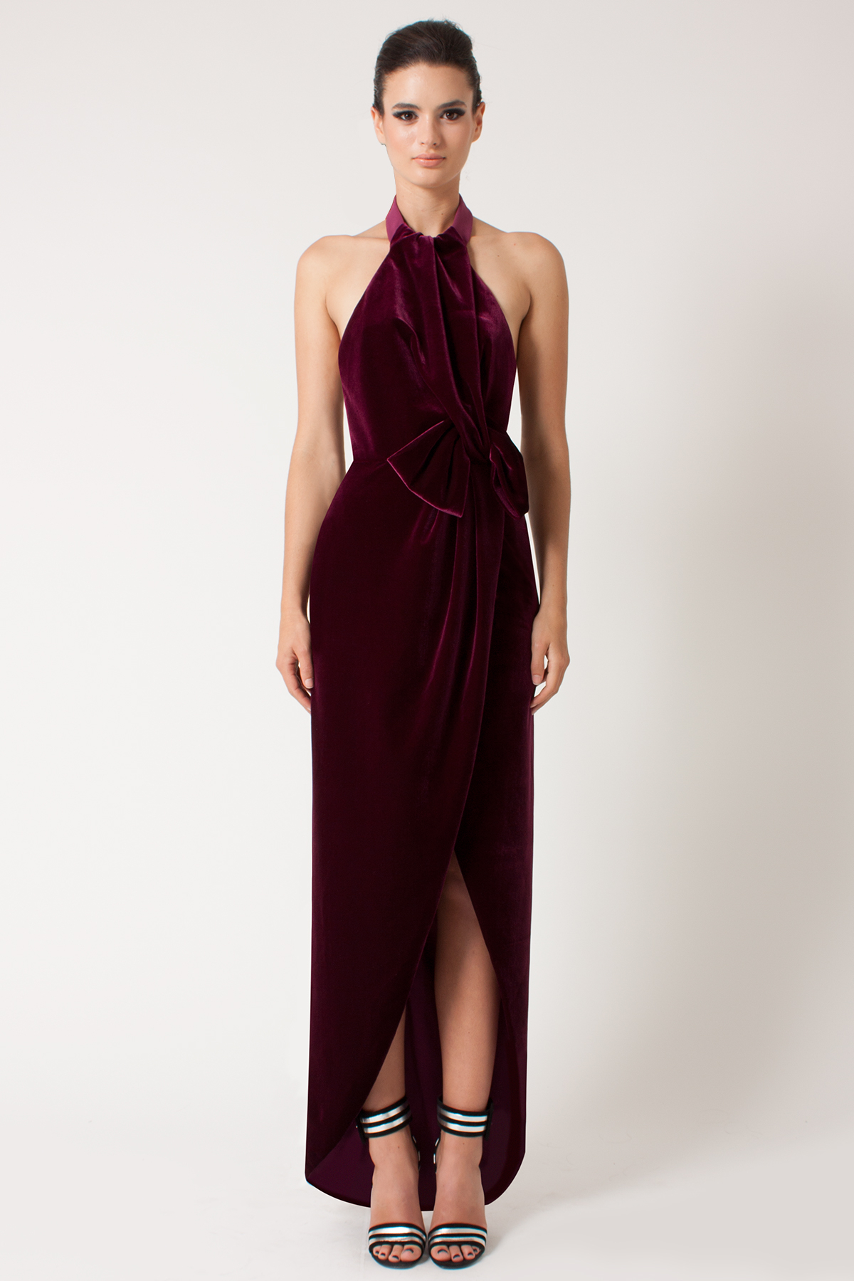 Lyst - Black Halo Admire Gown in Red