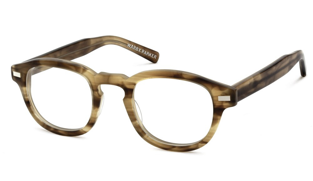 warby fillmore glasses in brown for lyst