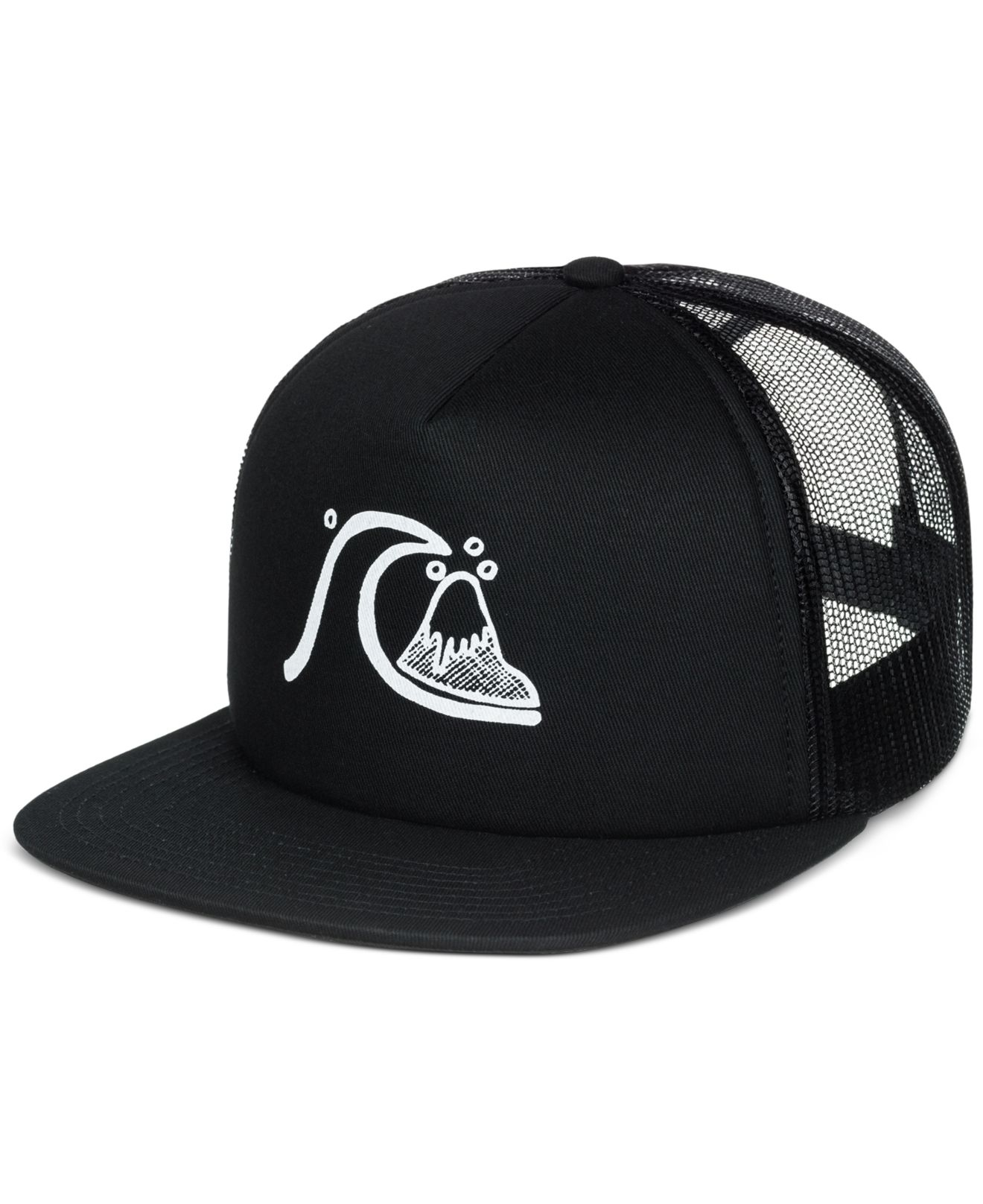 official photos 04140 411c6 ... promo code for lyst quiksilver quicksilver trucker hat in black for men  c0fac 958aa