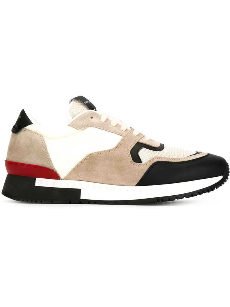 7f18bda18 Lyst - Givenchy Colour Block Sneakers in Black for Men