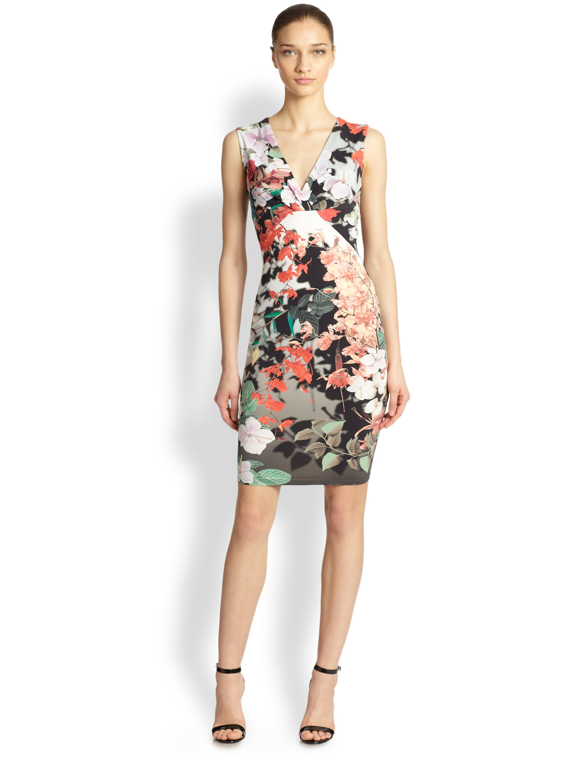 Sleeveless knitted dress Roberto Cavalli Sale Lowest Price Cheap Sale Low Shipping Authentic Sale Online Low Shipping Fee For Sale qcURfT7Om