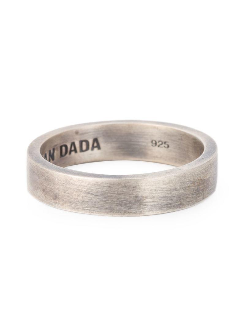 Christian Dada rope ring - Metallic aRIMWL