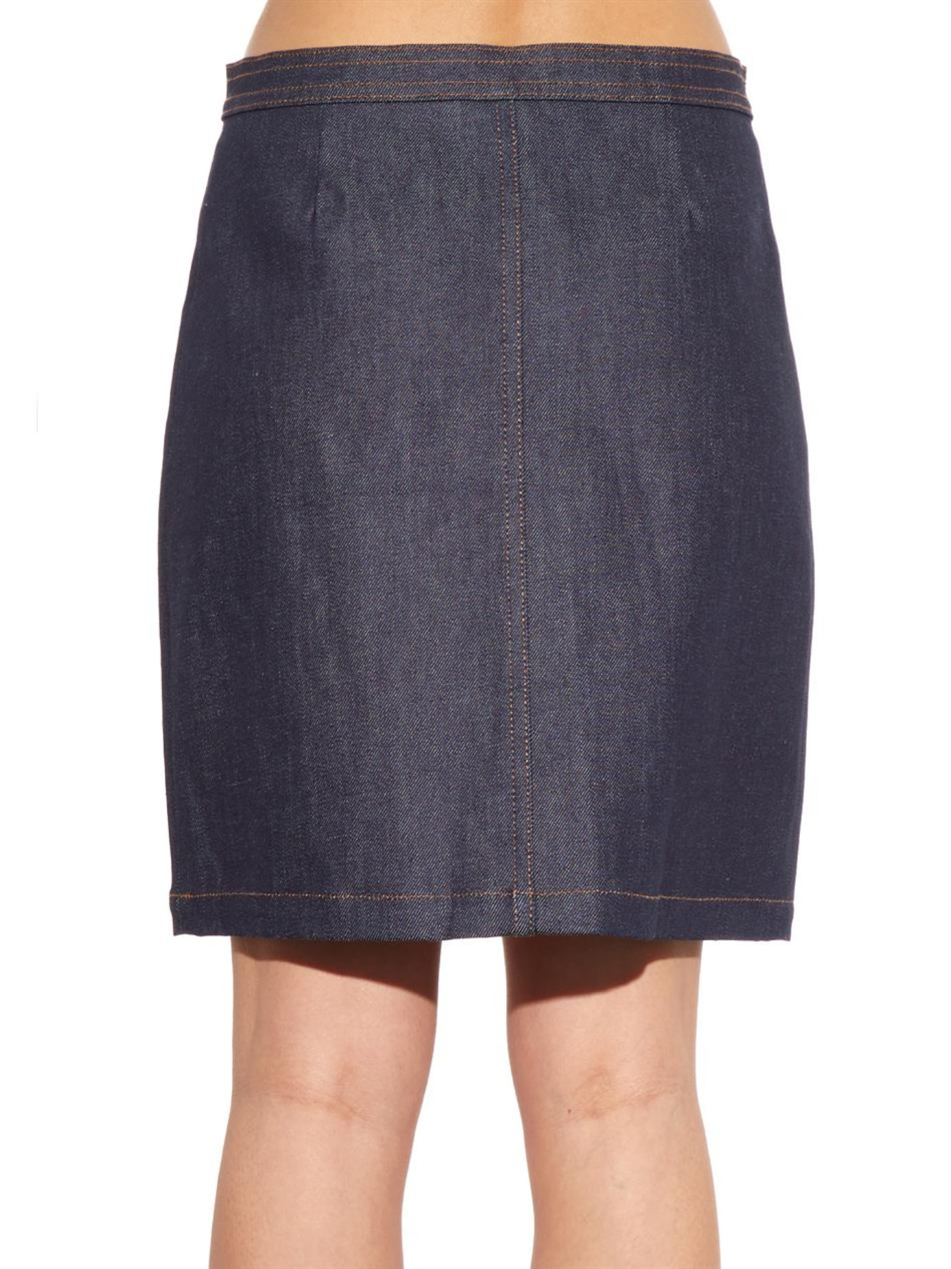 Apc Denim Skirt - Skirts