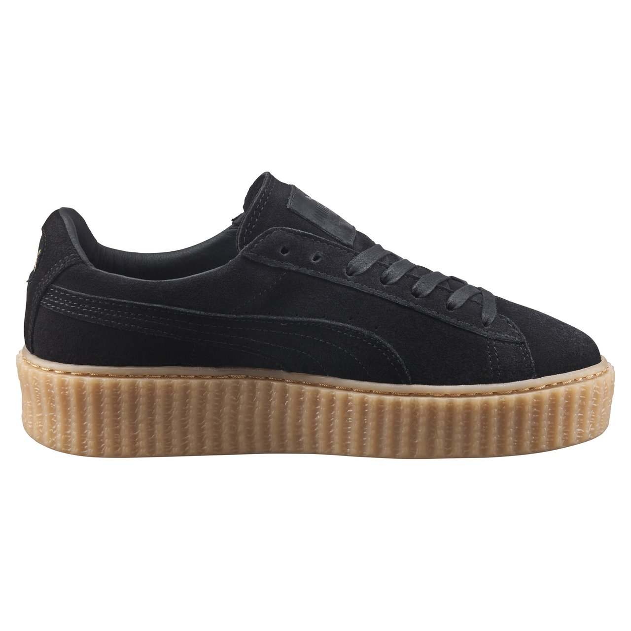 puma by rihanna women 39 s creeper in black lyst. Black Bedroom Furniture Sets. Home Design Ideas