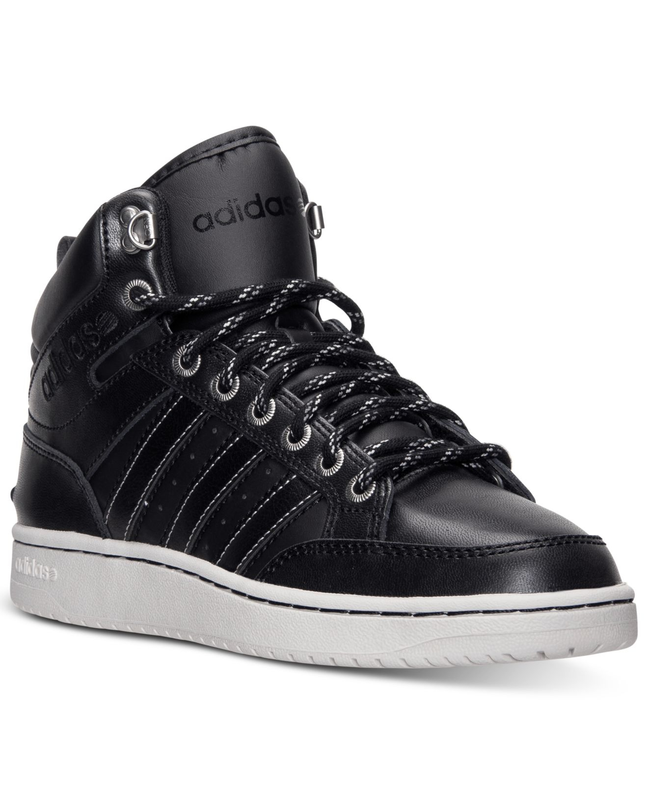 636c21fb5389a germany adidas neo hoops premium leather 77d8d ffd62