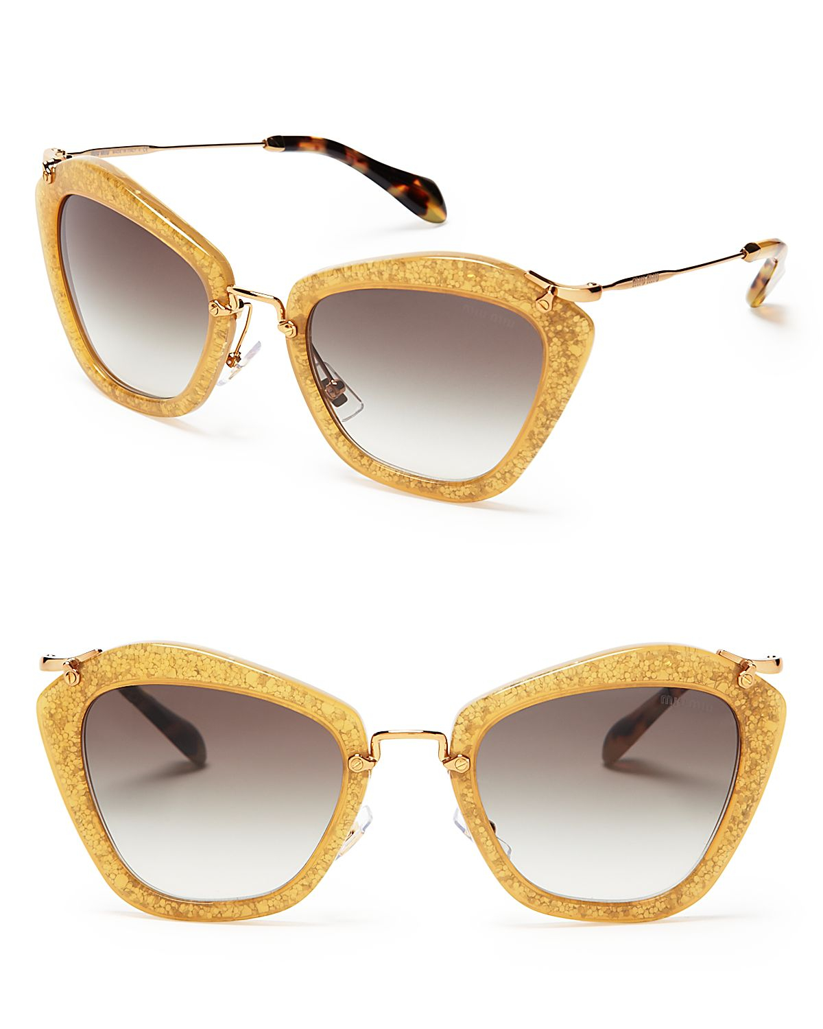 397694c0458d Gallery. Previously sold at: Bloomingdale's · Women's Miu Miu Glitter ...